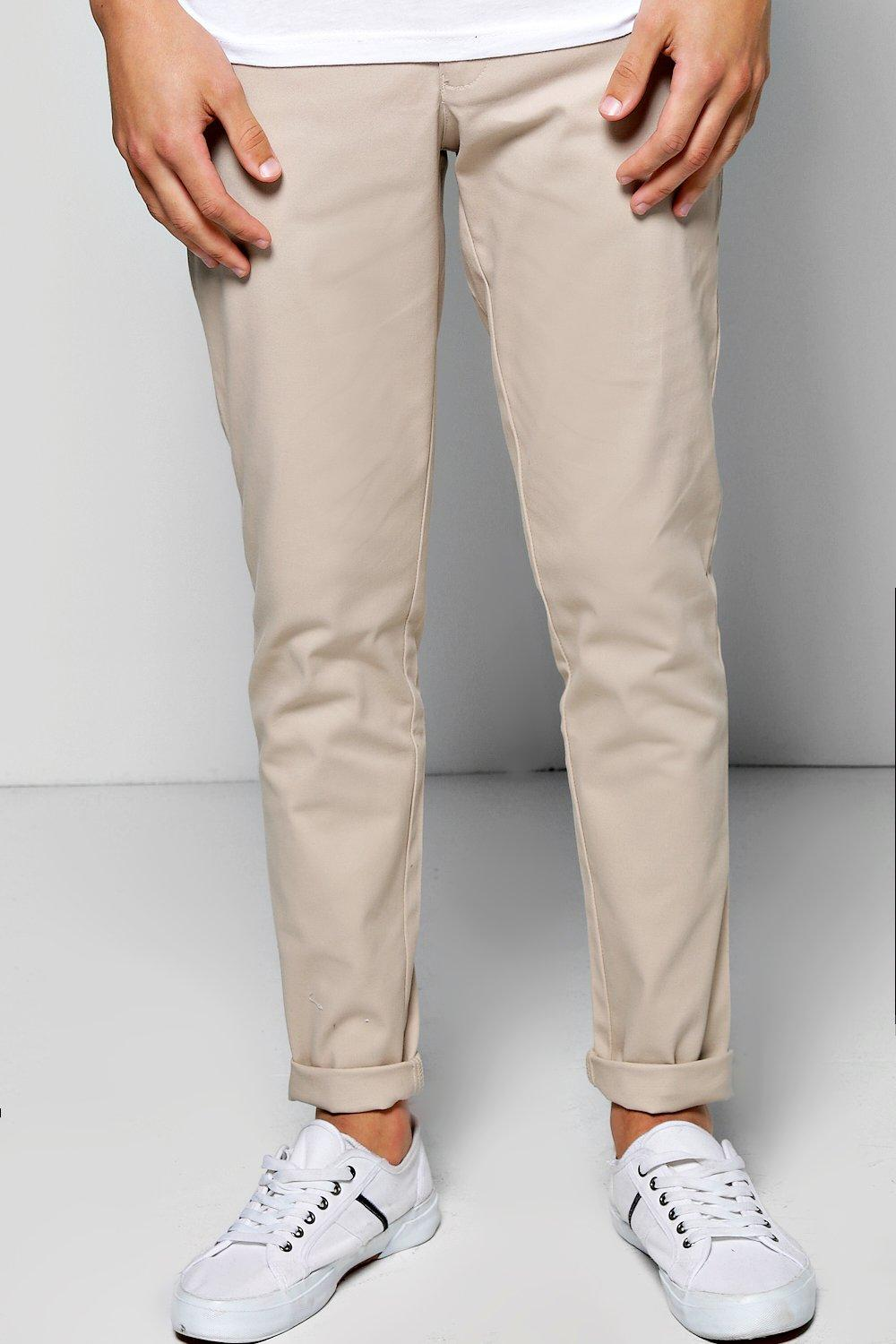 Roll-Up Stretch Skinny Chinos