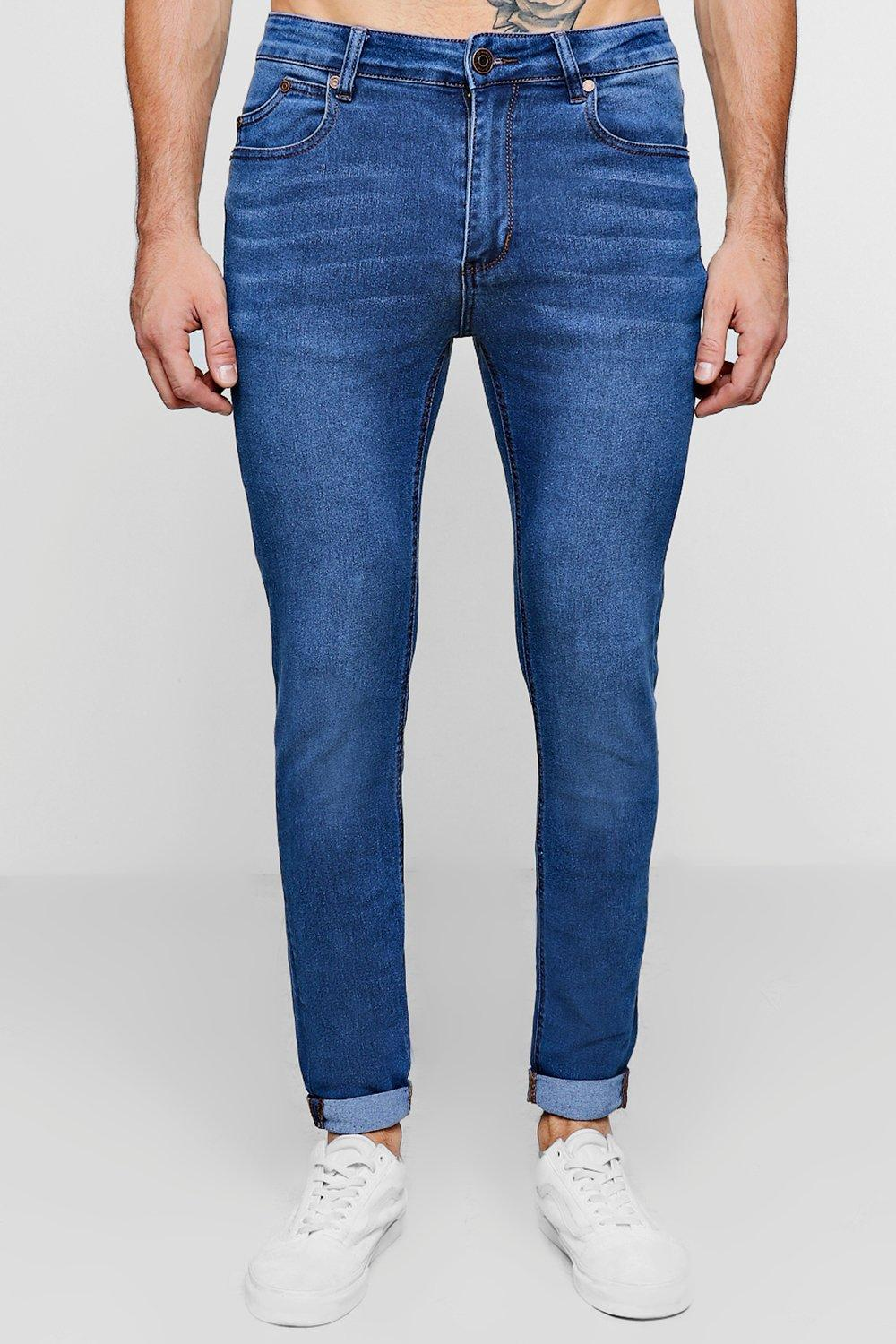Skinny Fit Washed Jean