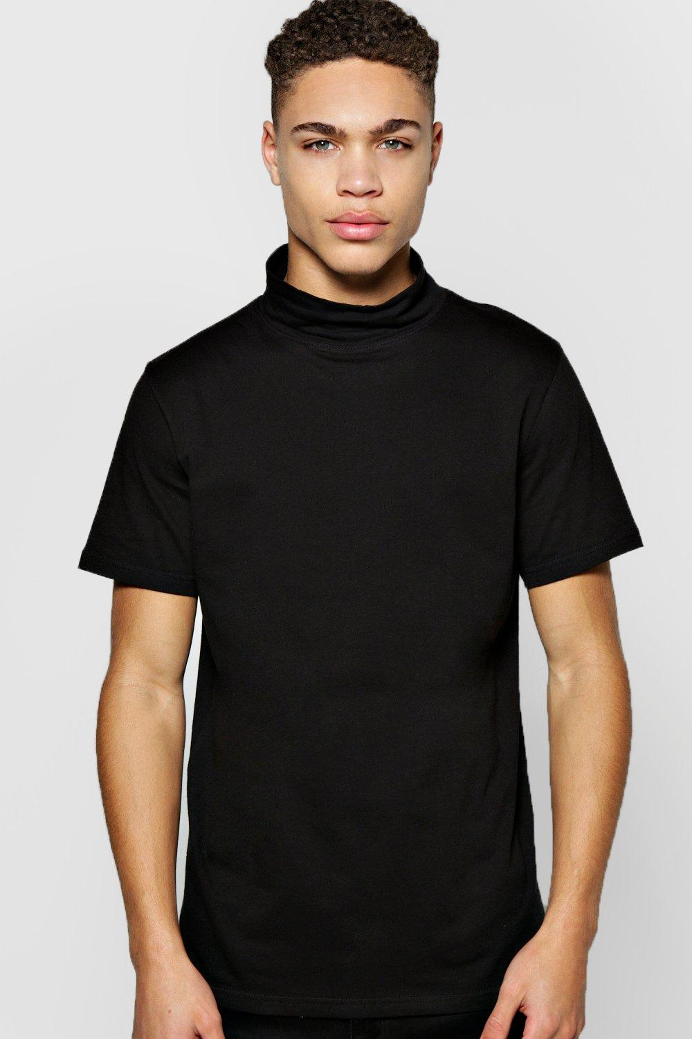 Short Sleeve Turtle Neck TShirt