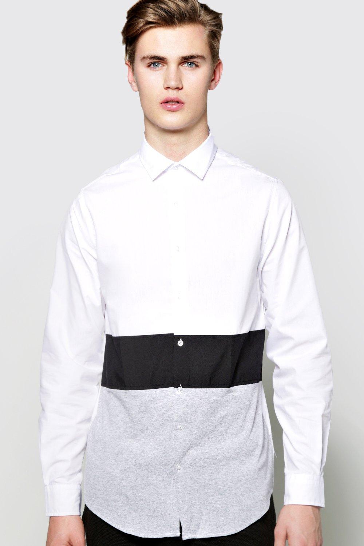 Fit Panel Shirt grey