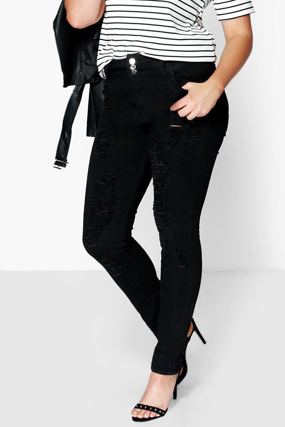 Plus Alice High Waisted Stretch Skinny Jeans
