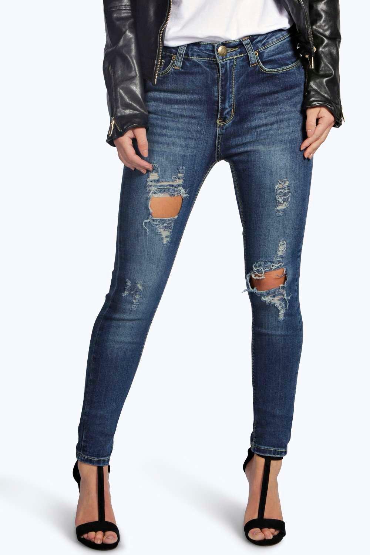 Pre Ripped Skinny Jeans