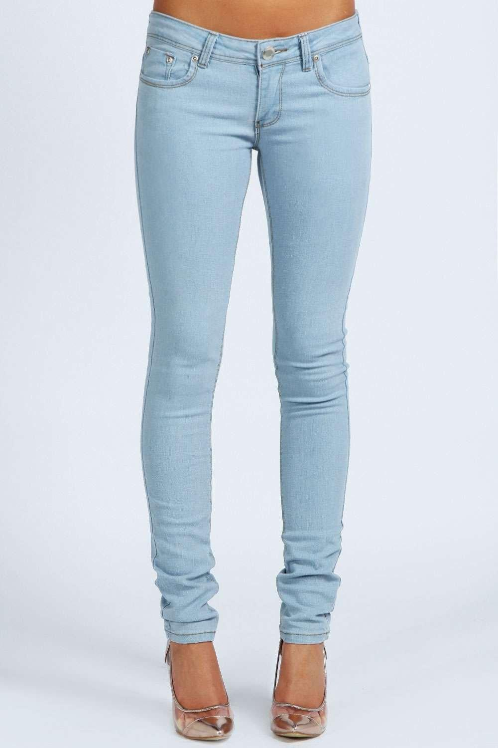 Petite Ripped Skinny Jeans - Legends Jeans