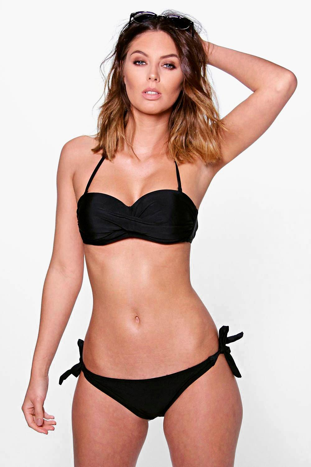 Ibiza Twist Underwired Bandeau Bikini