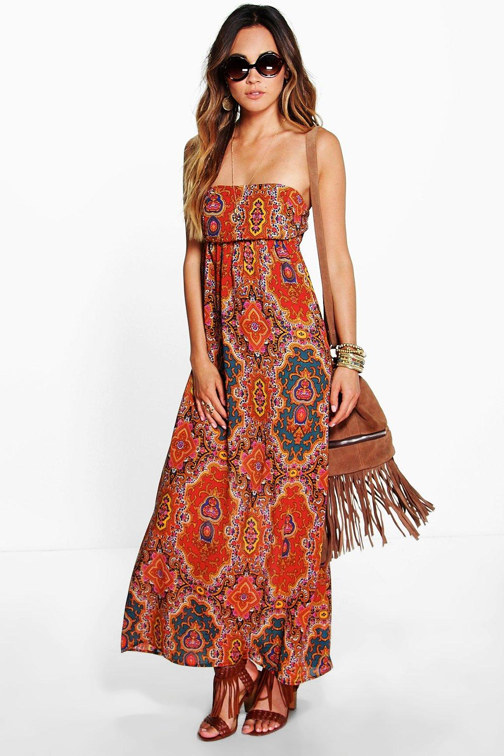 Kate Strapless Maxi Dress