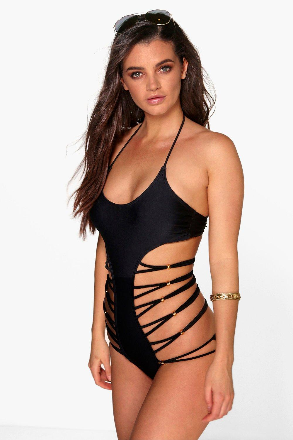 Barbados Strappy Cut Out Swimsuit