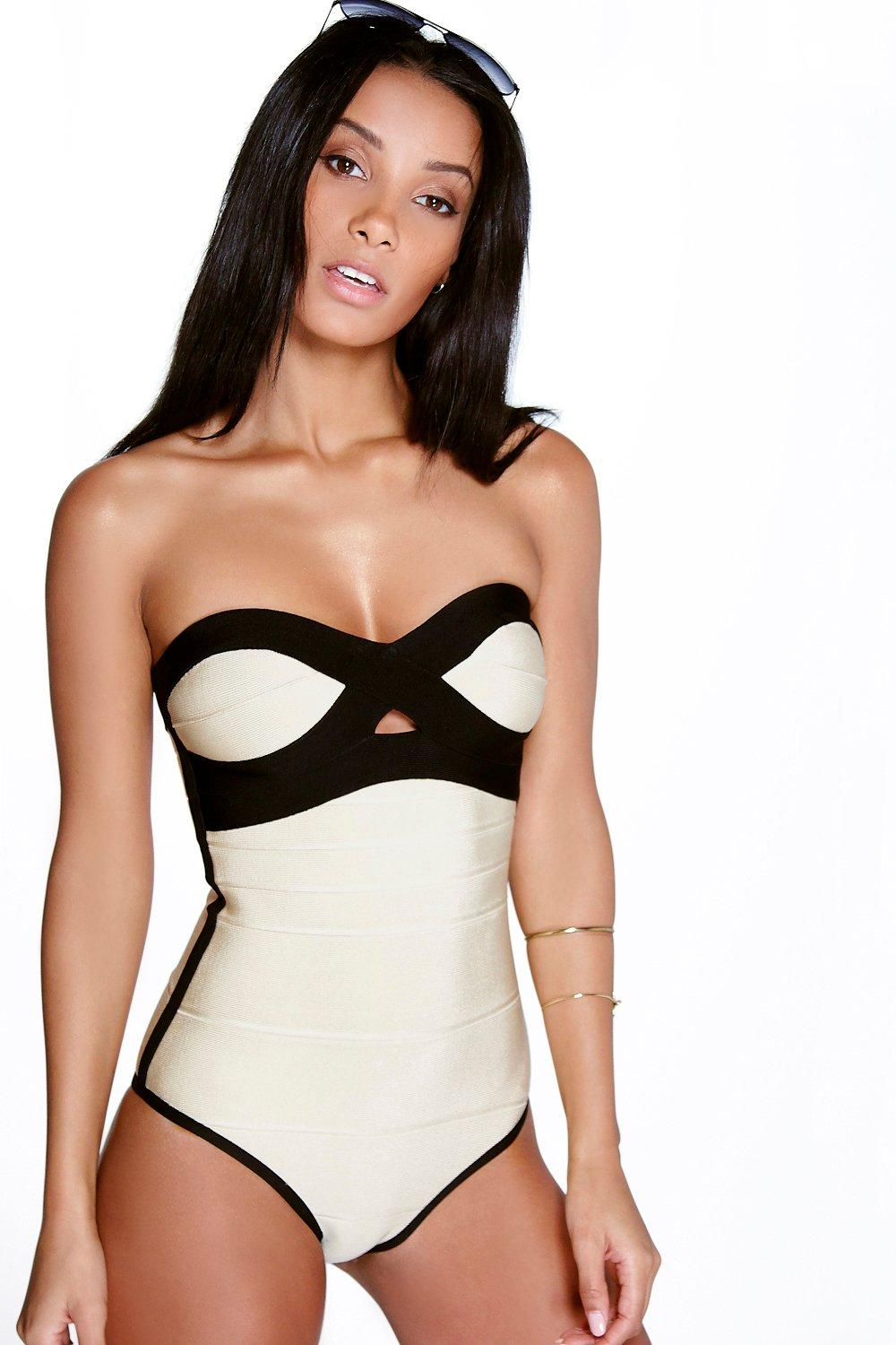 Antigua Boutique Bandage Shimmer One Piece
