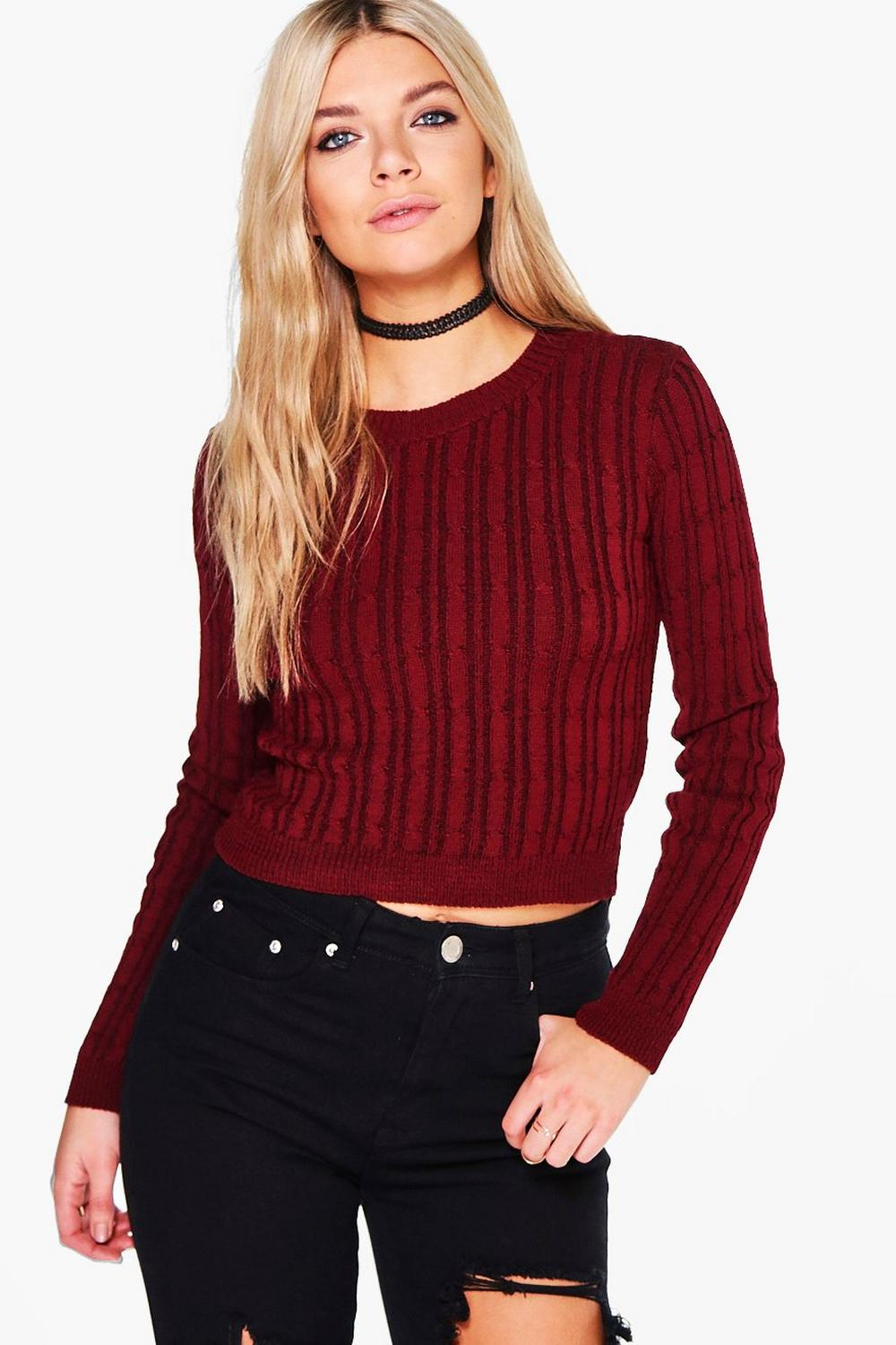 Charlotte Cable Knit Jumper