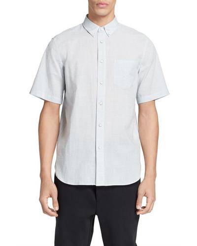 SHORT SLEEVE BUTTON DOWN OXFORD