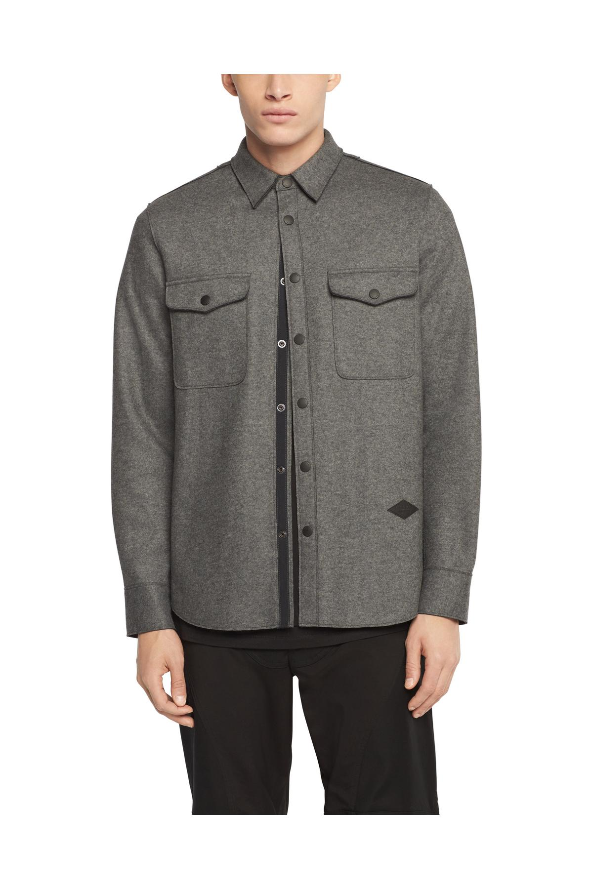 RAG & BONE RAW EDGE JACK SHIRT