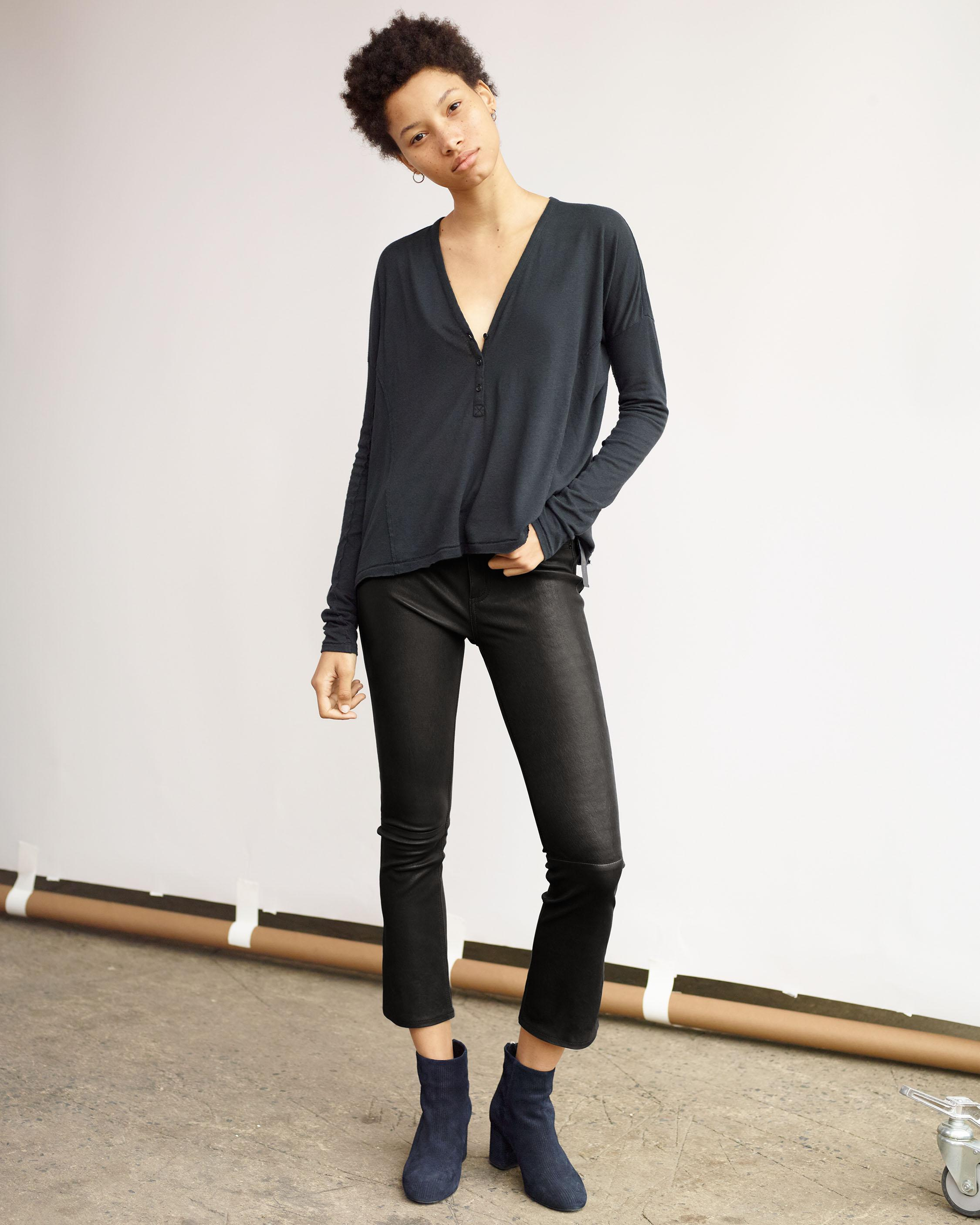 LEATHER HANA PANT