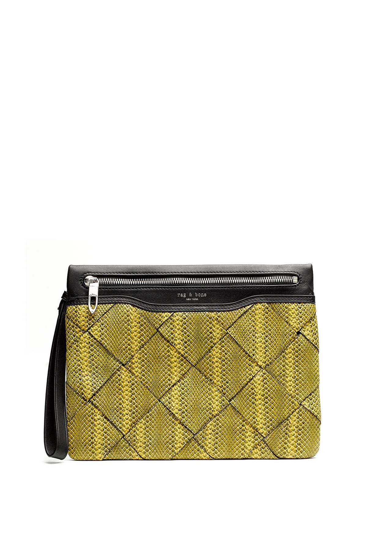 RAG & BONE ZIP CLUTCH