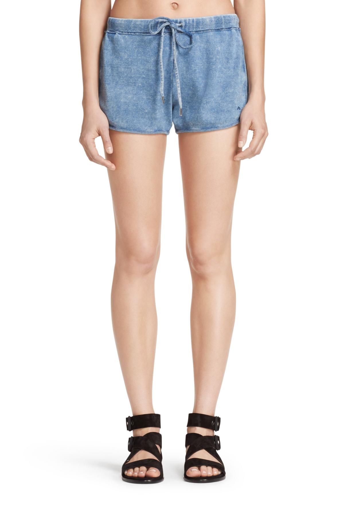 RAG & BONE INDIGO SHORT