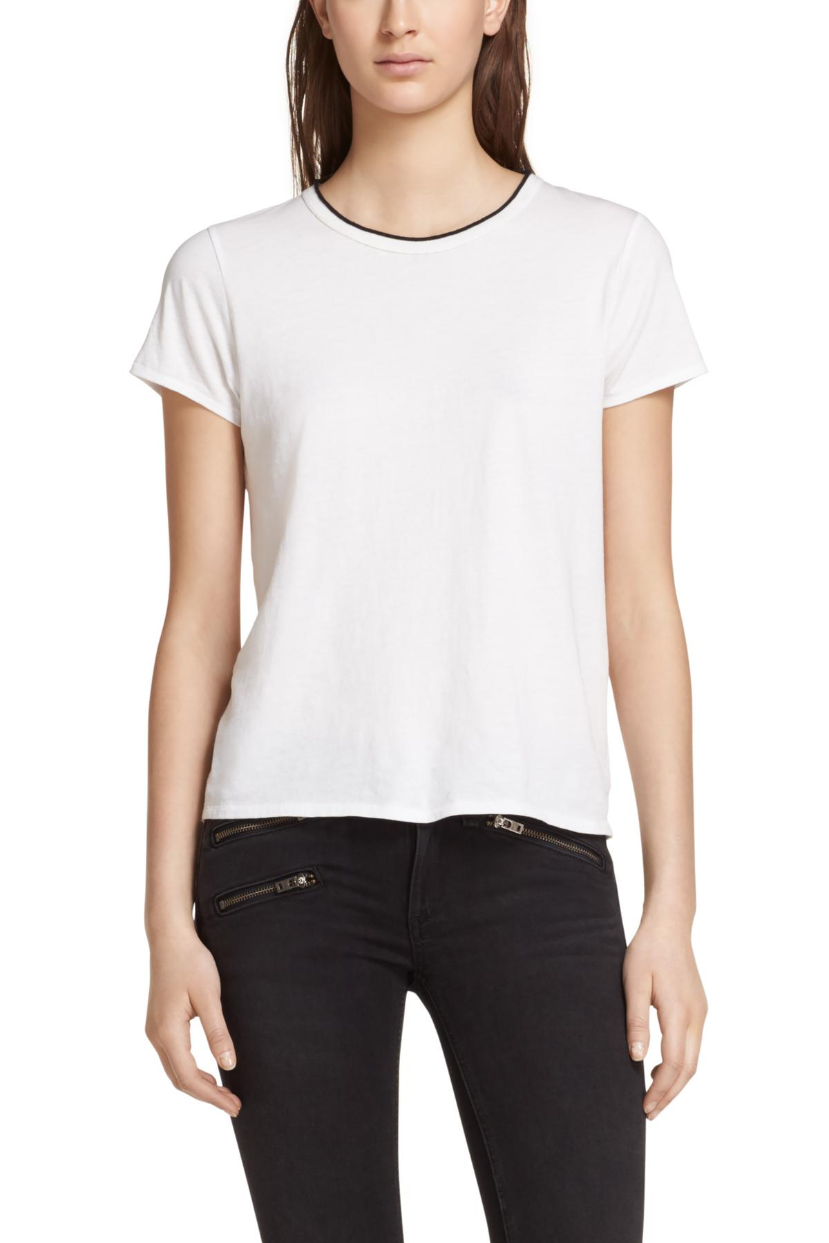 RAG & BONE RIB BASE TEE