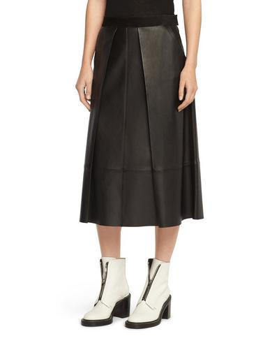 ROWE SKIRT- LEATHER
