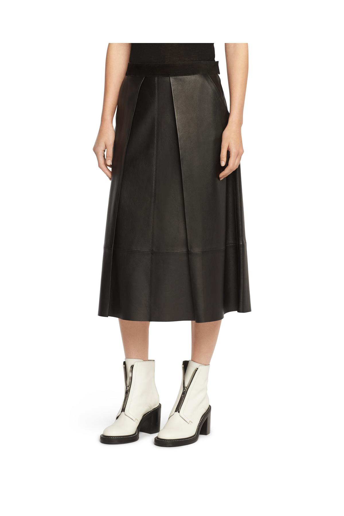 RAG & BONE ROWE SKIRT- LEATHER