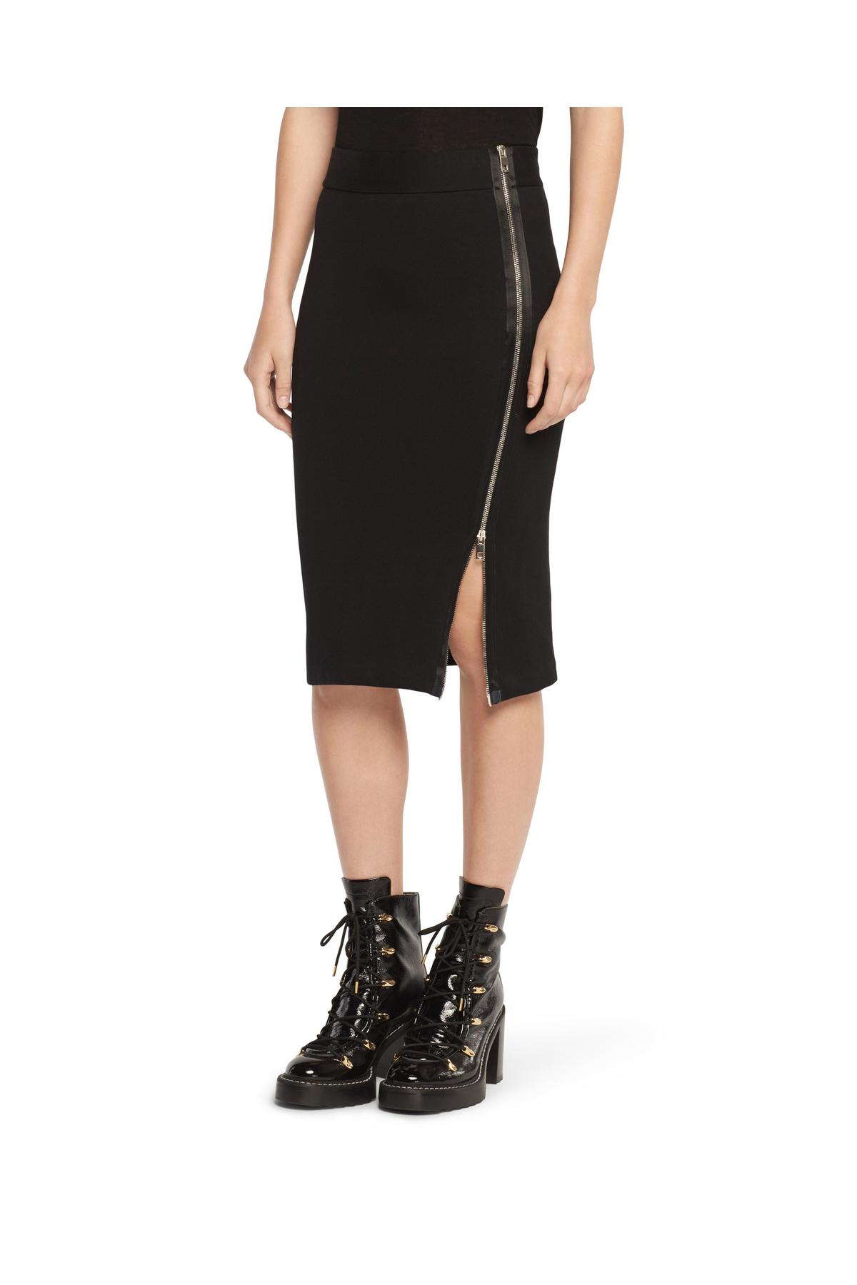 RAG & BONE ZIP TRACK SKIRT