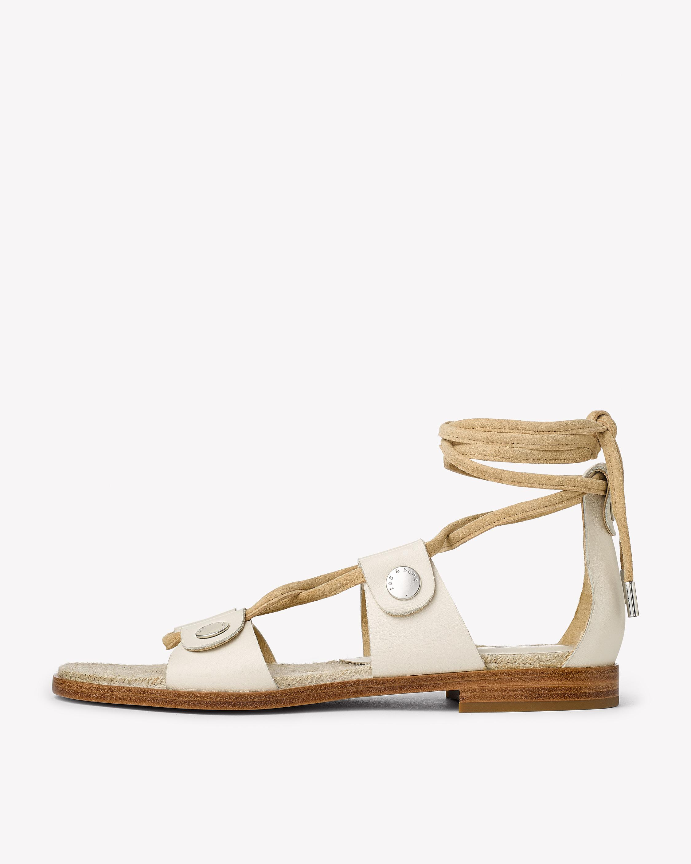 EVELYN lace-up SANDAL