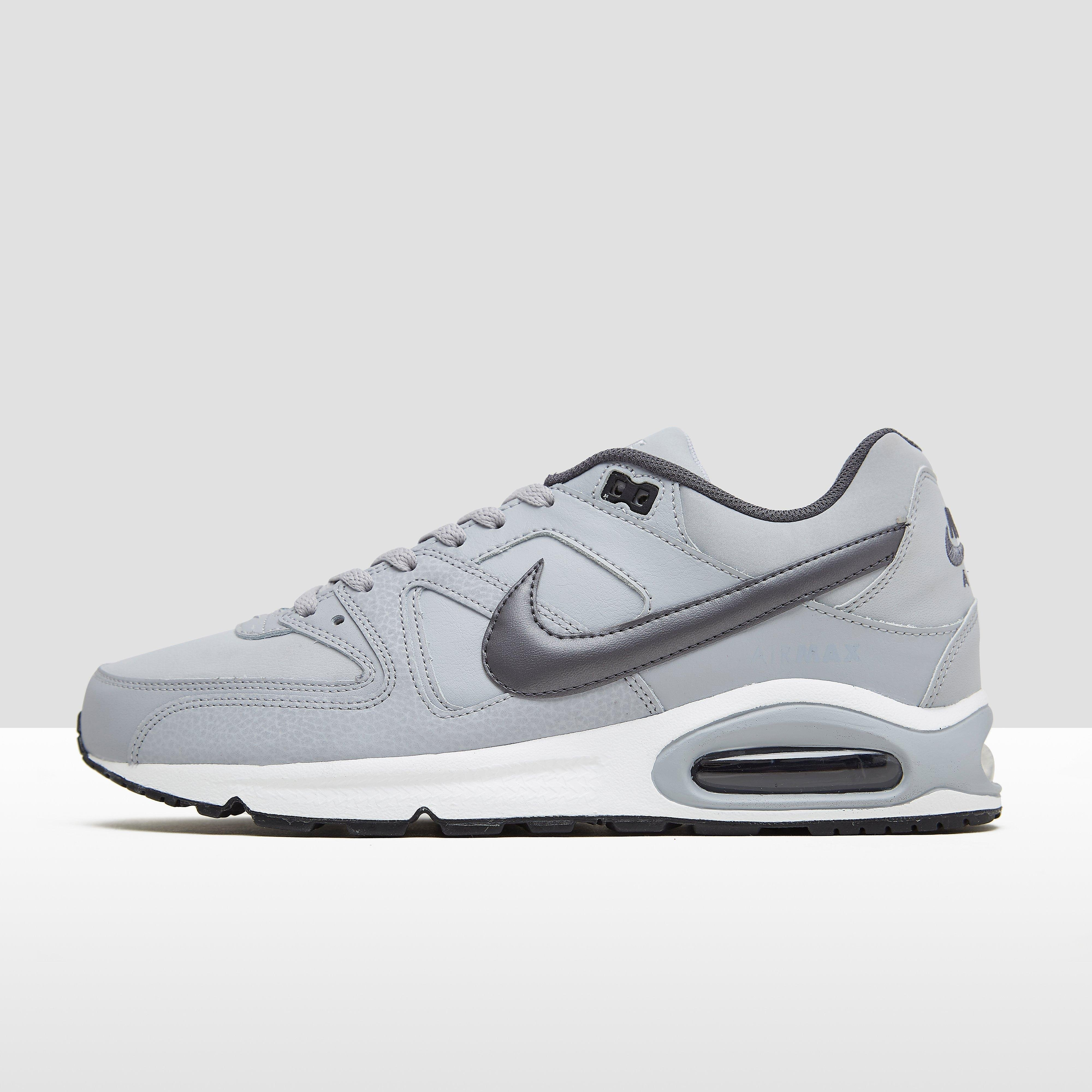 Air Max Command Leather Sneakers Grijs Heren. Size 43