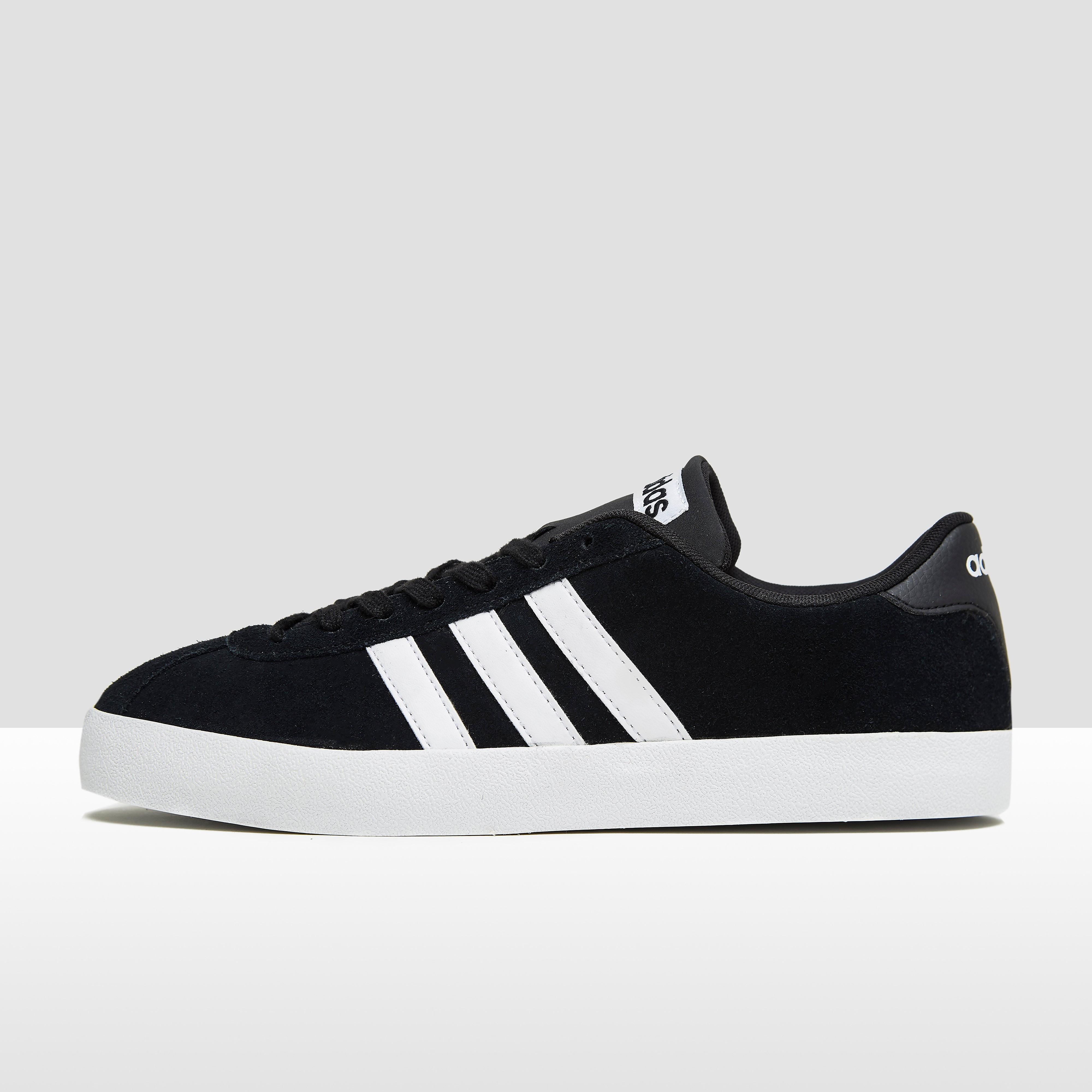 Court Vulc Sneakers Zwart/Wit Heren