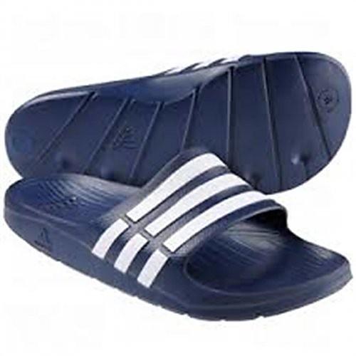 Adidas Duramo Slide blauw-wit EU 42 UK 8