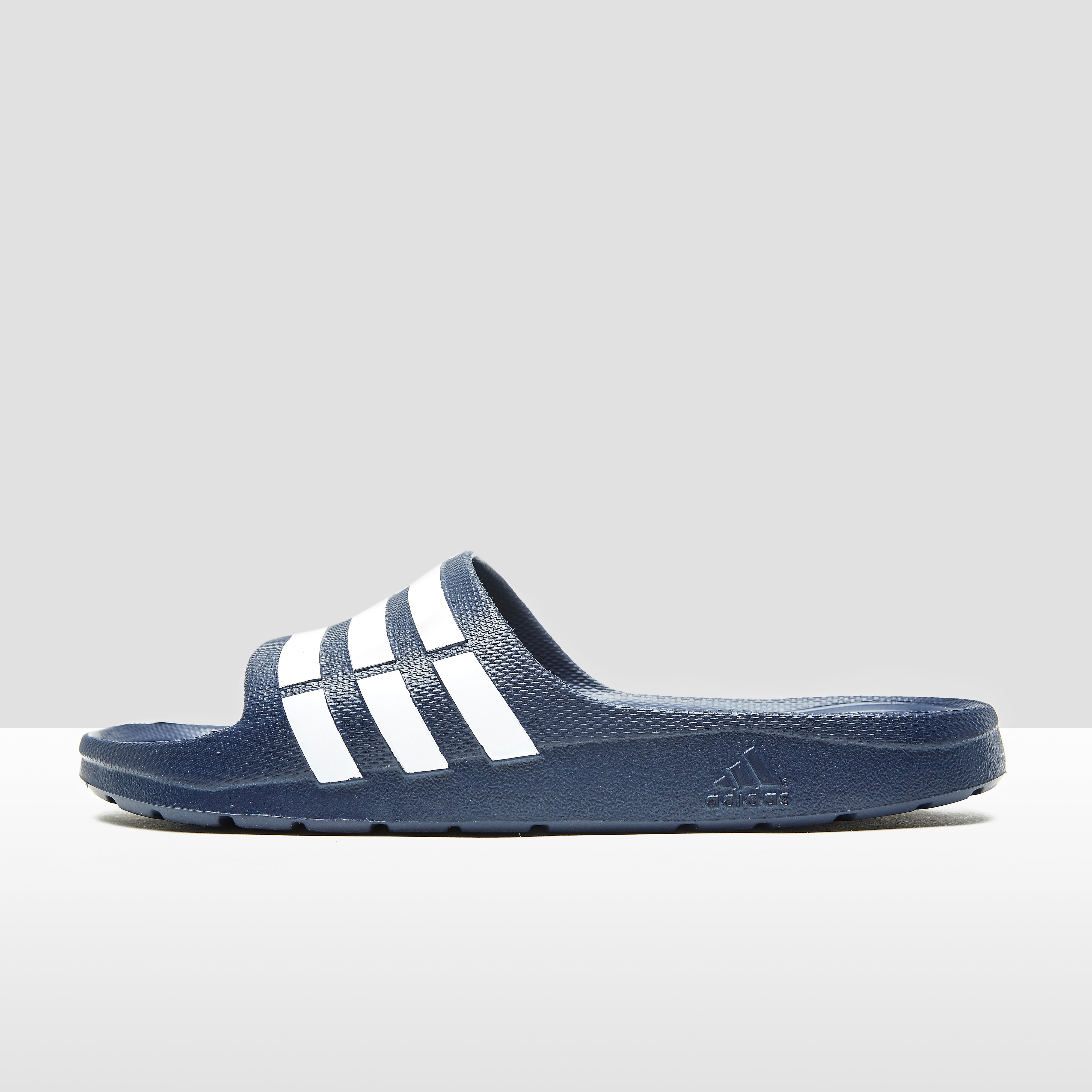 Adidas Duramo Slide blauw-wit EU 44 2-3 UK 10