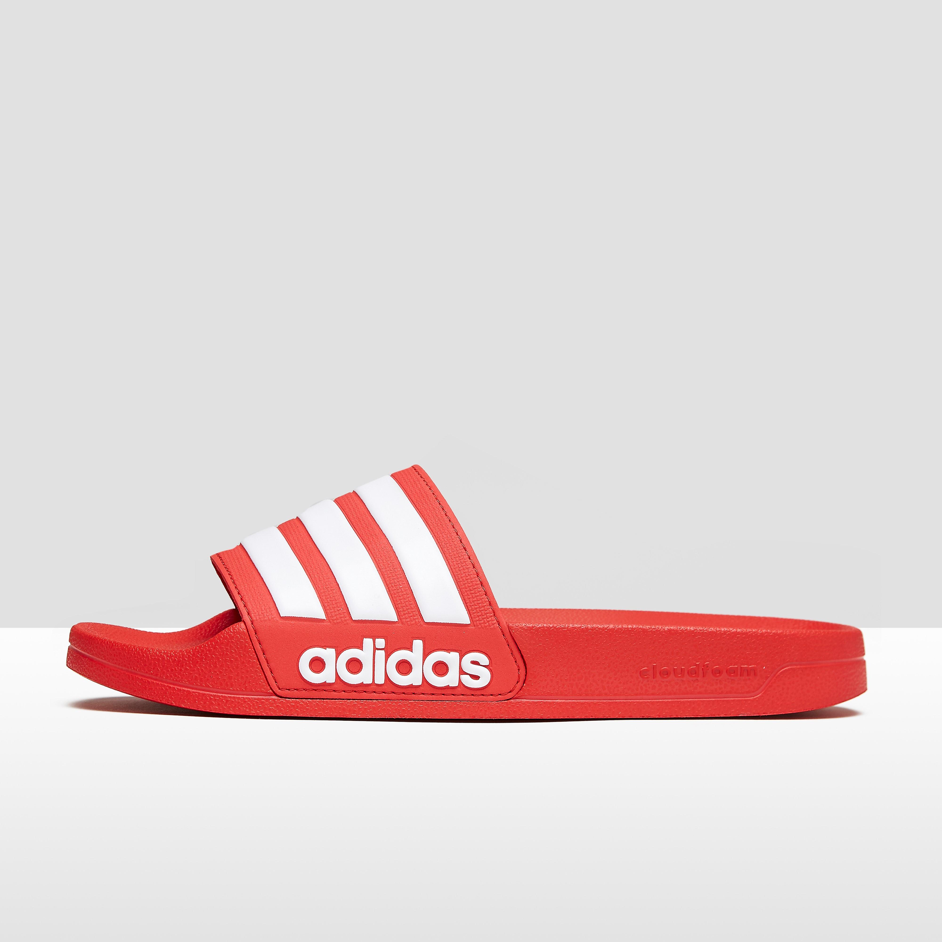 Adidas Adilette herensneaker rood