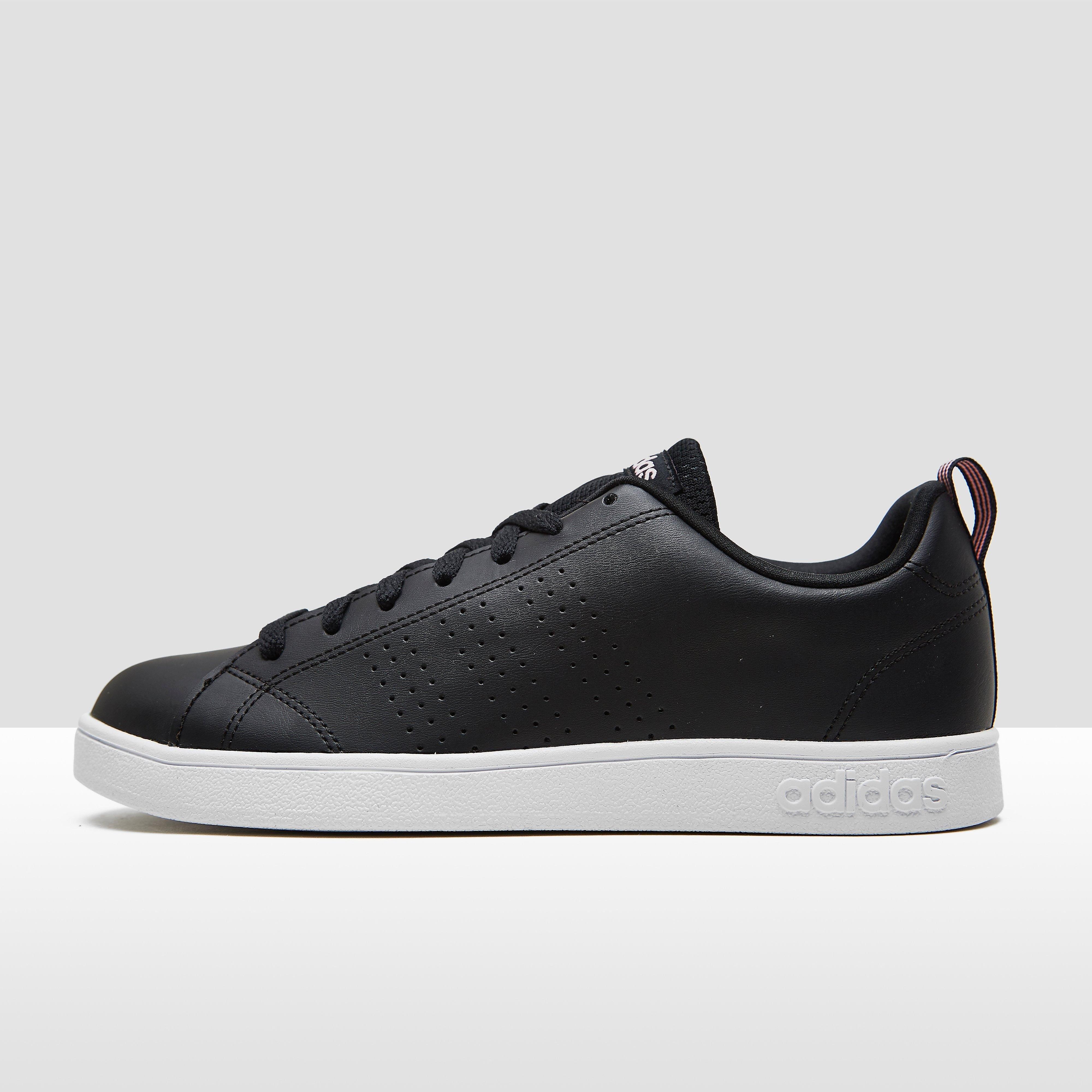 Vs Hoops 2.0 Sneakers Zwart-Wit Dames