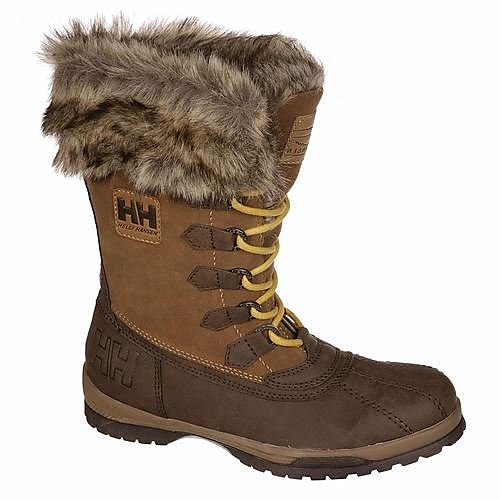 Gill Mid Snowboots Bruin Dames - Brown