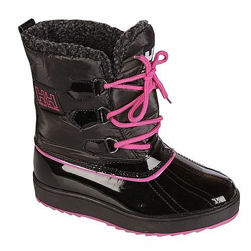 Line Snowboots Zwart/Roze Dames - Black/Pink