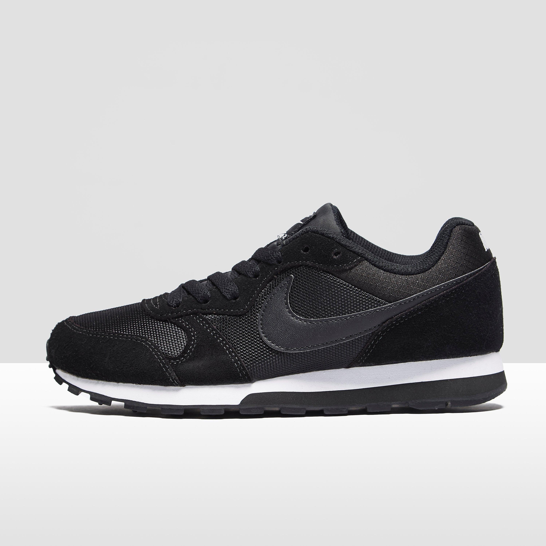 Nike MD Runner damessneaker zwart en wit