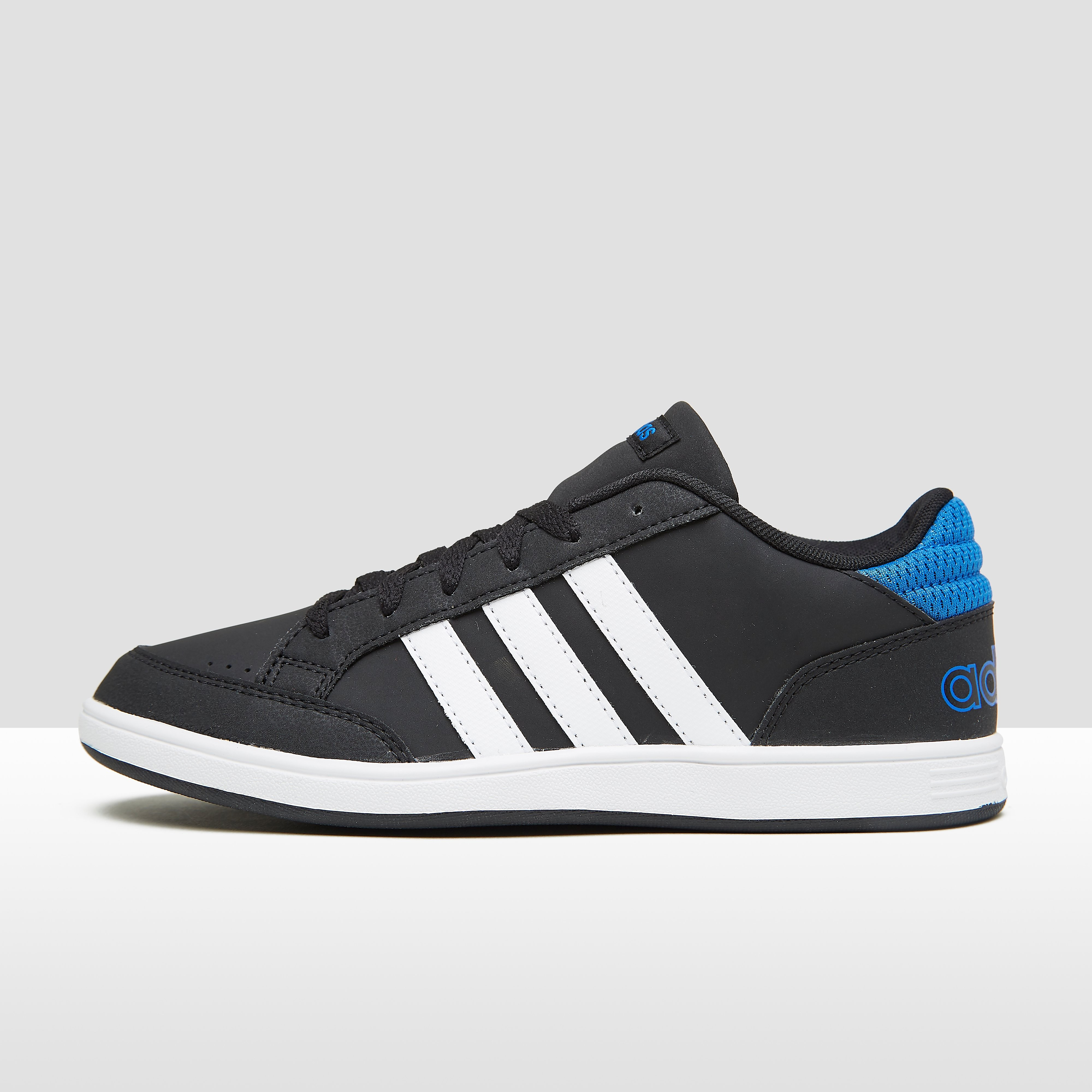 Adidas kindersneaker zwart en blauw