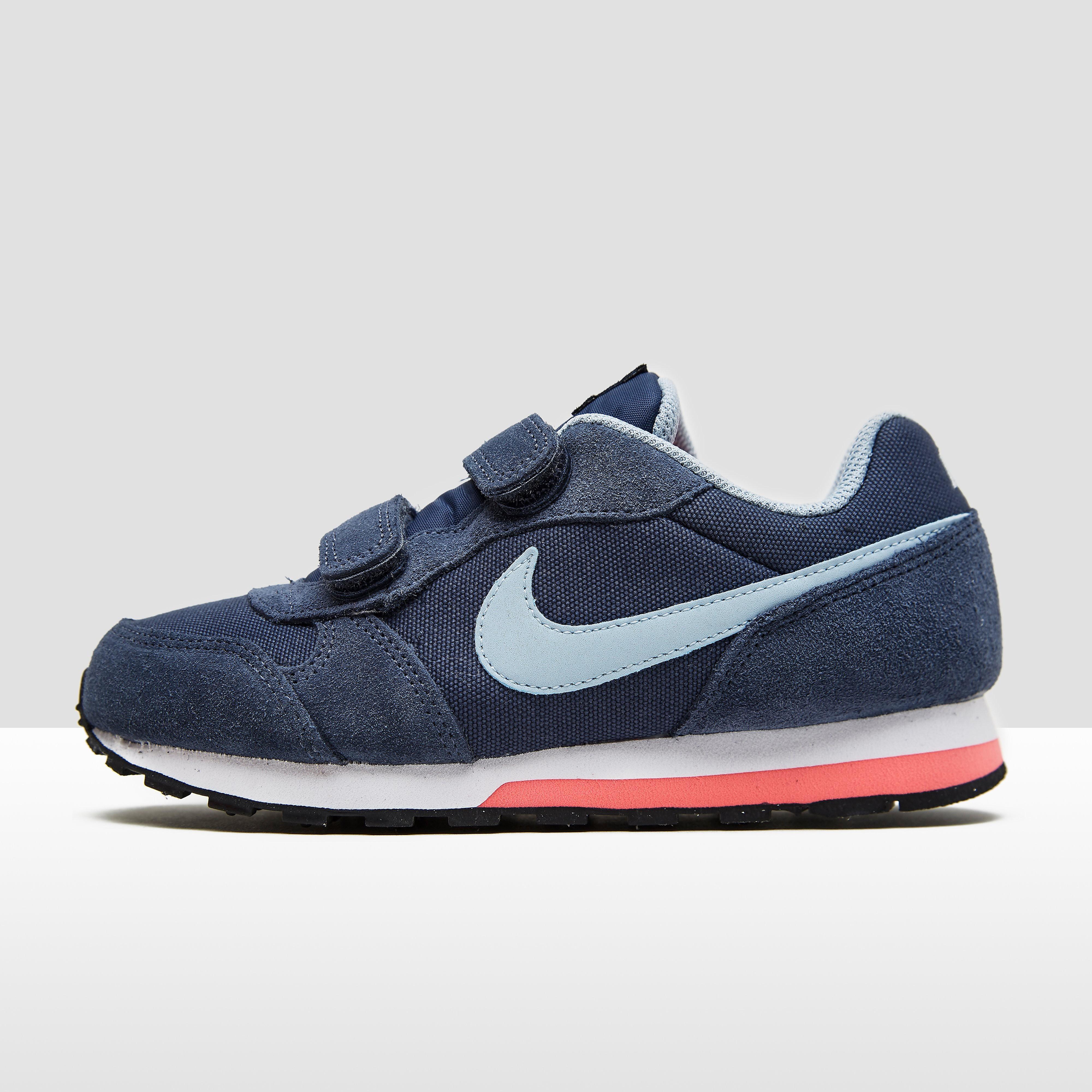 Nike MD Runner kindersneaker blauw