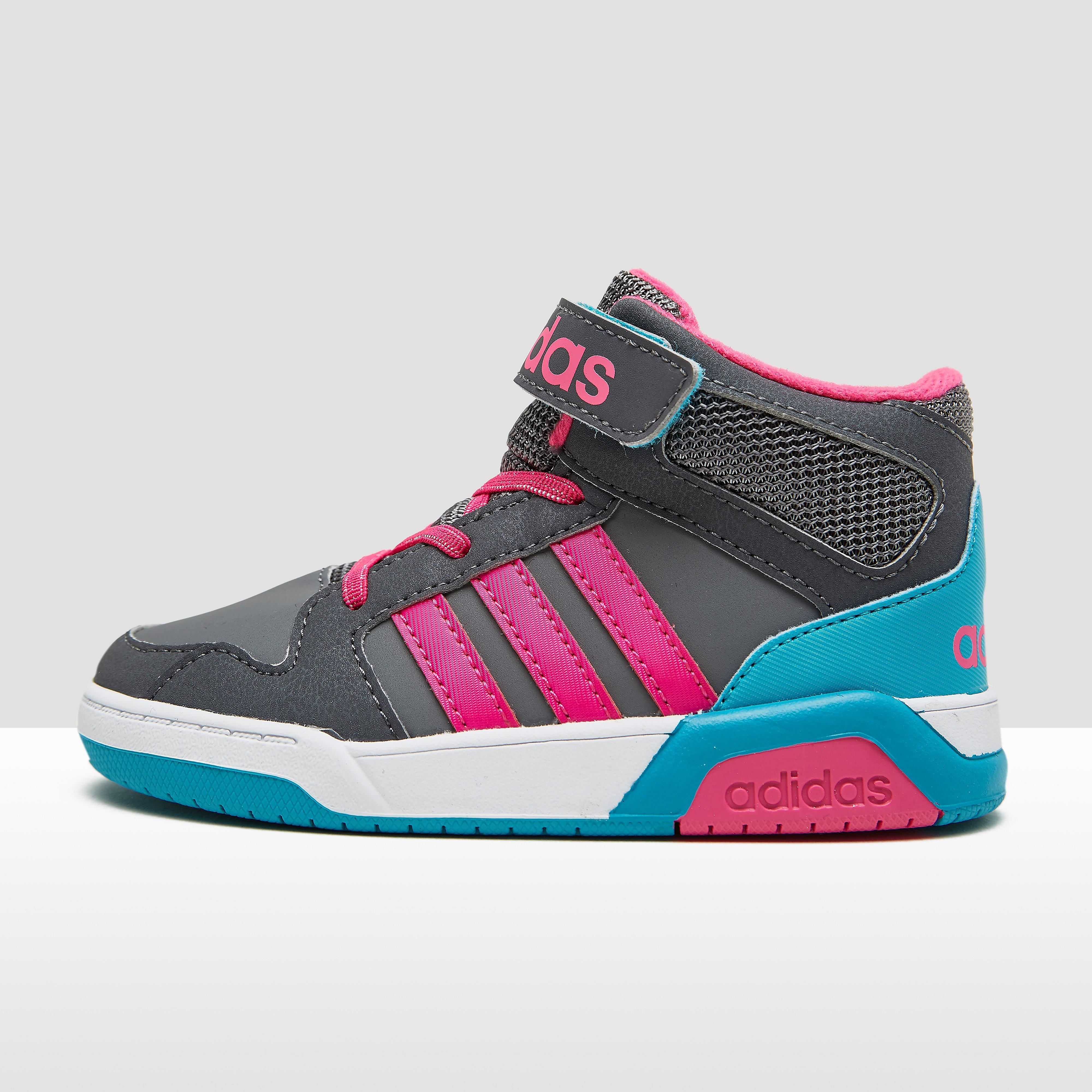 Adidas babysneaker grijs en roze