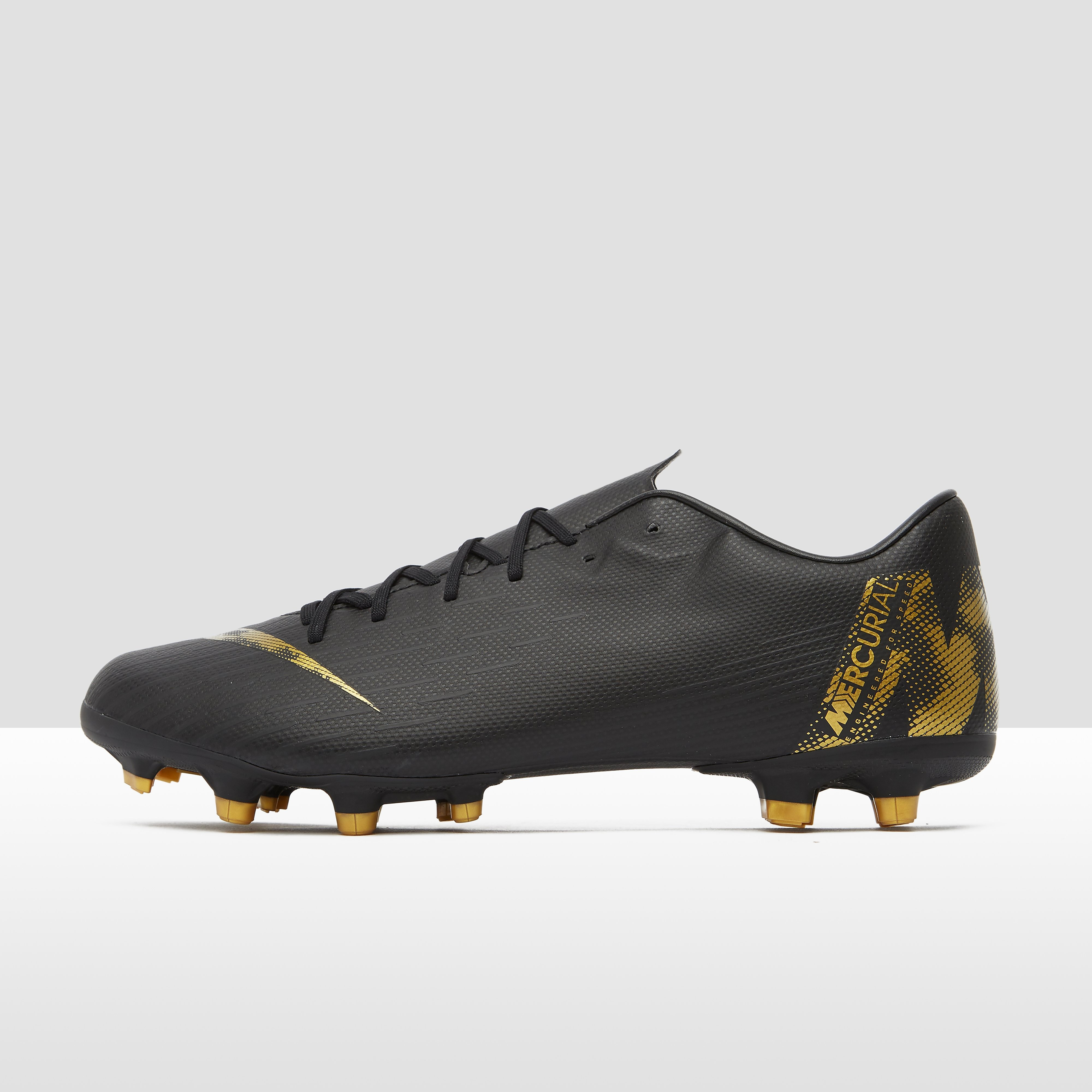 NIKE Mercurial vapor 12 academy mg voetbalschoenen zwart/goud Dames