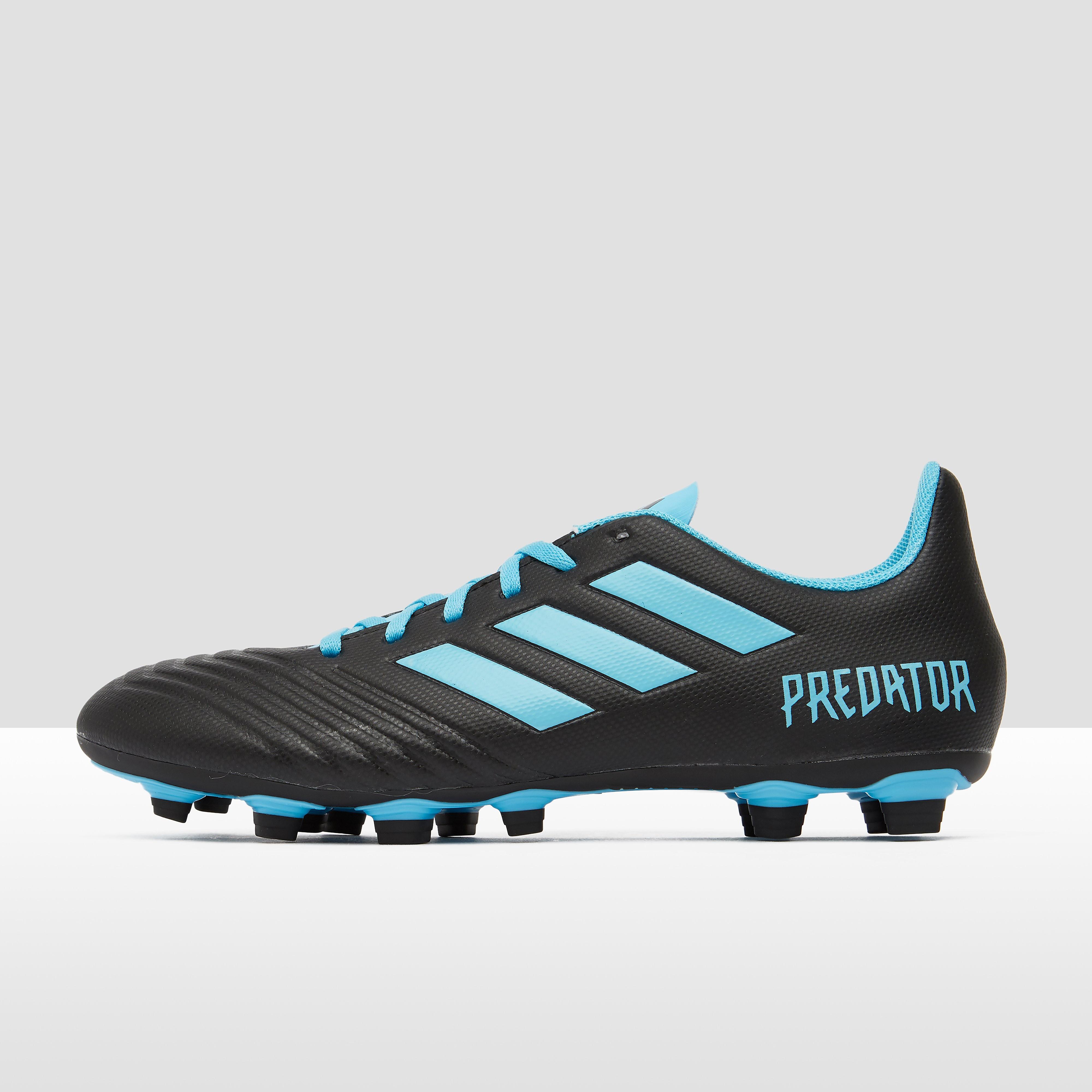 adidas Predator 19.4 fxg voetbalschoenen zwart/blauw Dames