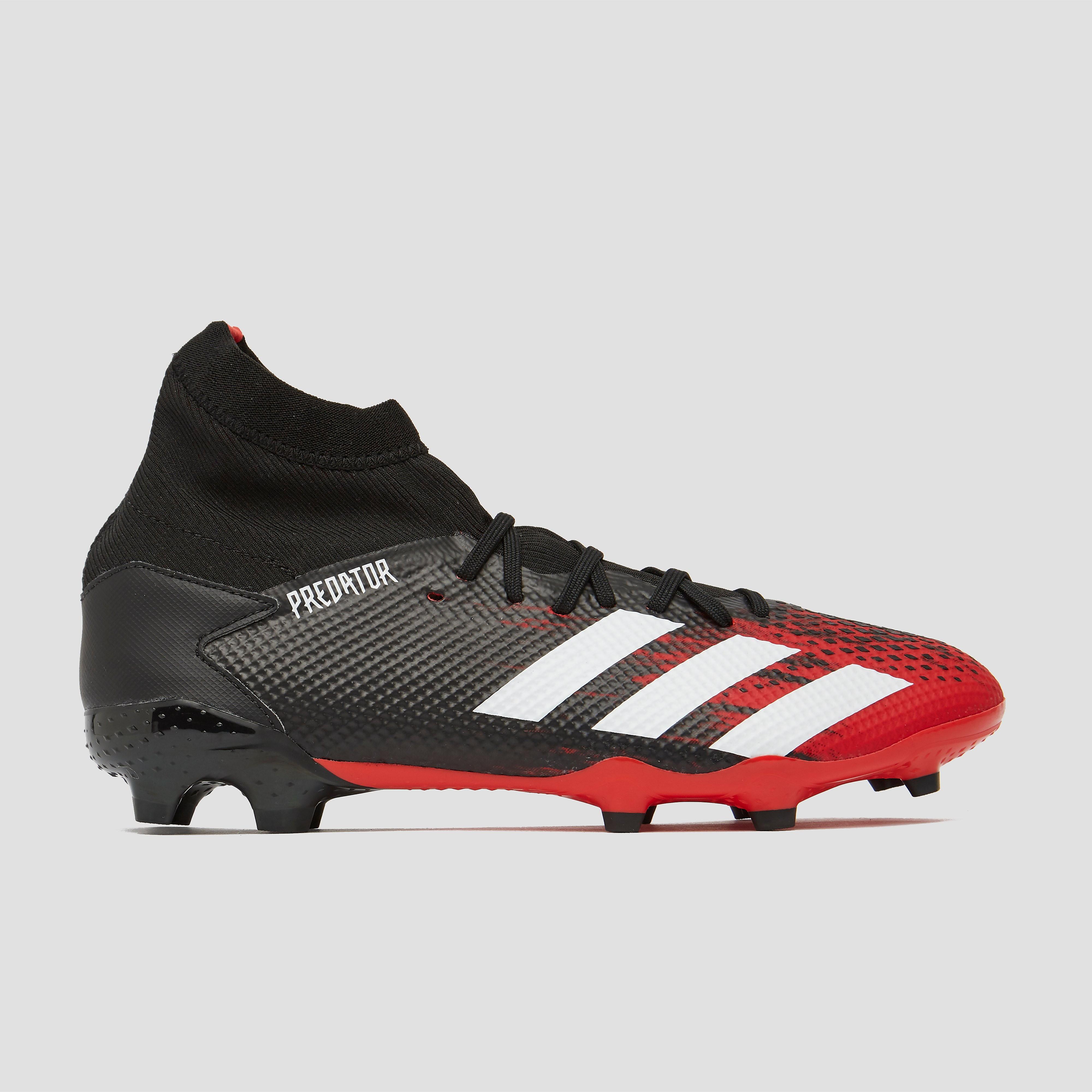 adidas performance Predator 20.3 FG voetbalschoenen zwart-rood