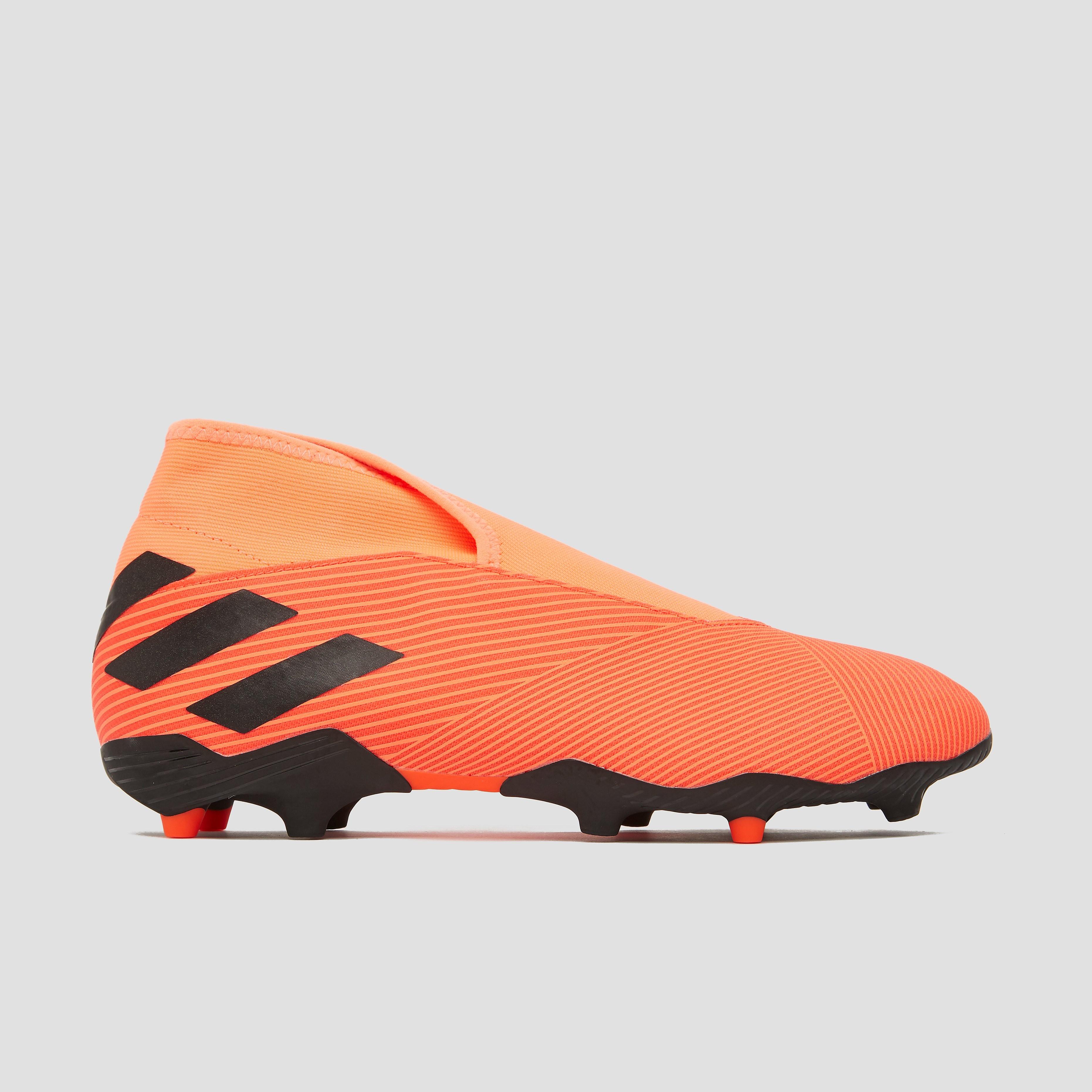adidas Nemeziz 19.3 laceless fg voetbalschoenen oranje Dames
