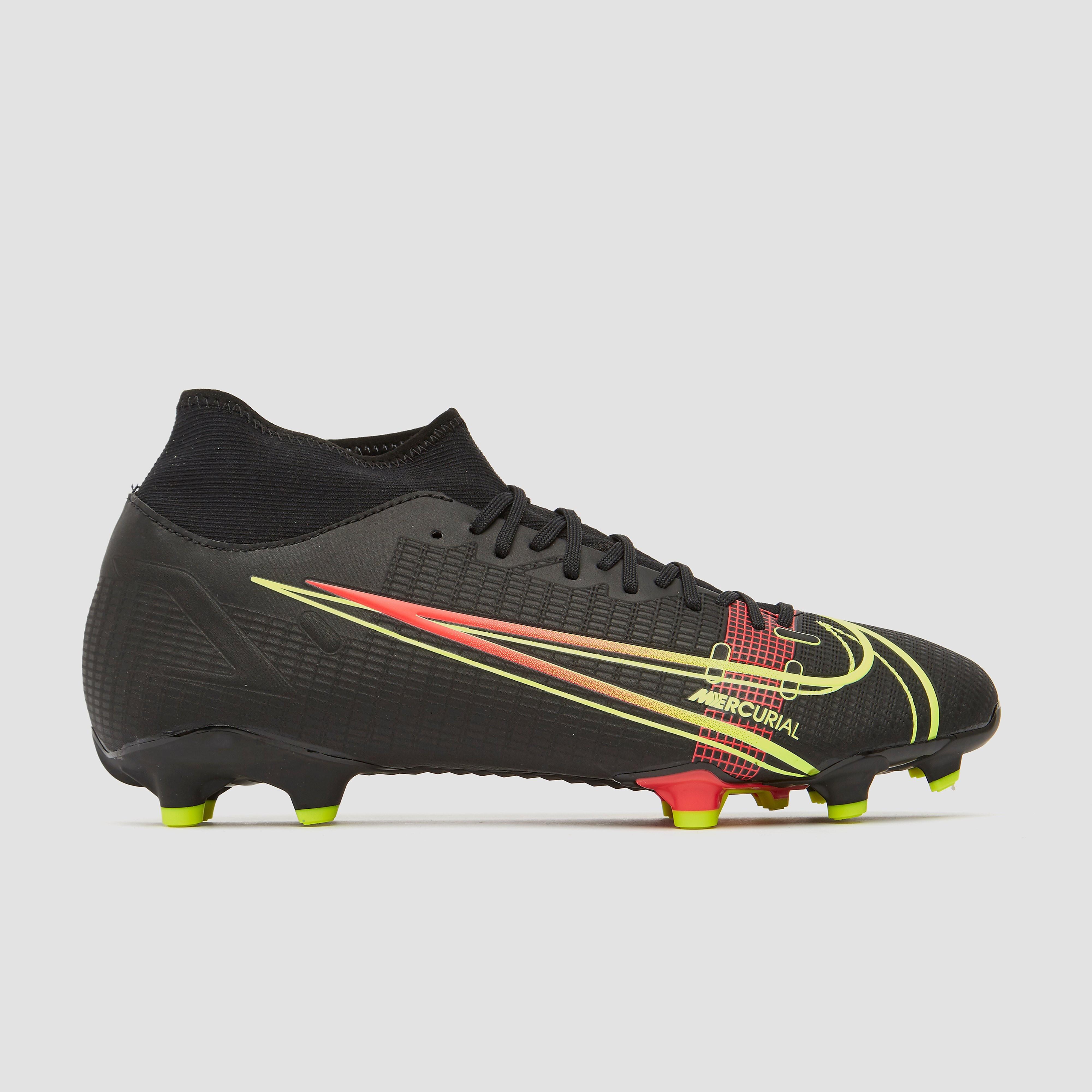 NIKE Mercurial superfly 8 academy df mg voetbalschoenen zwart/geel Dames