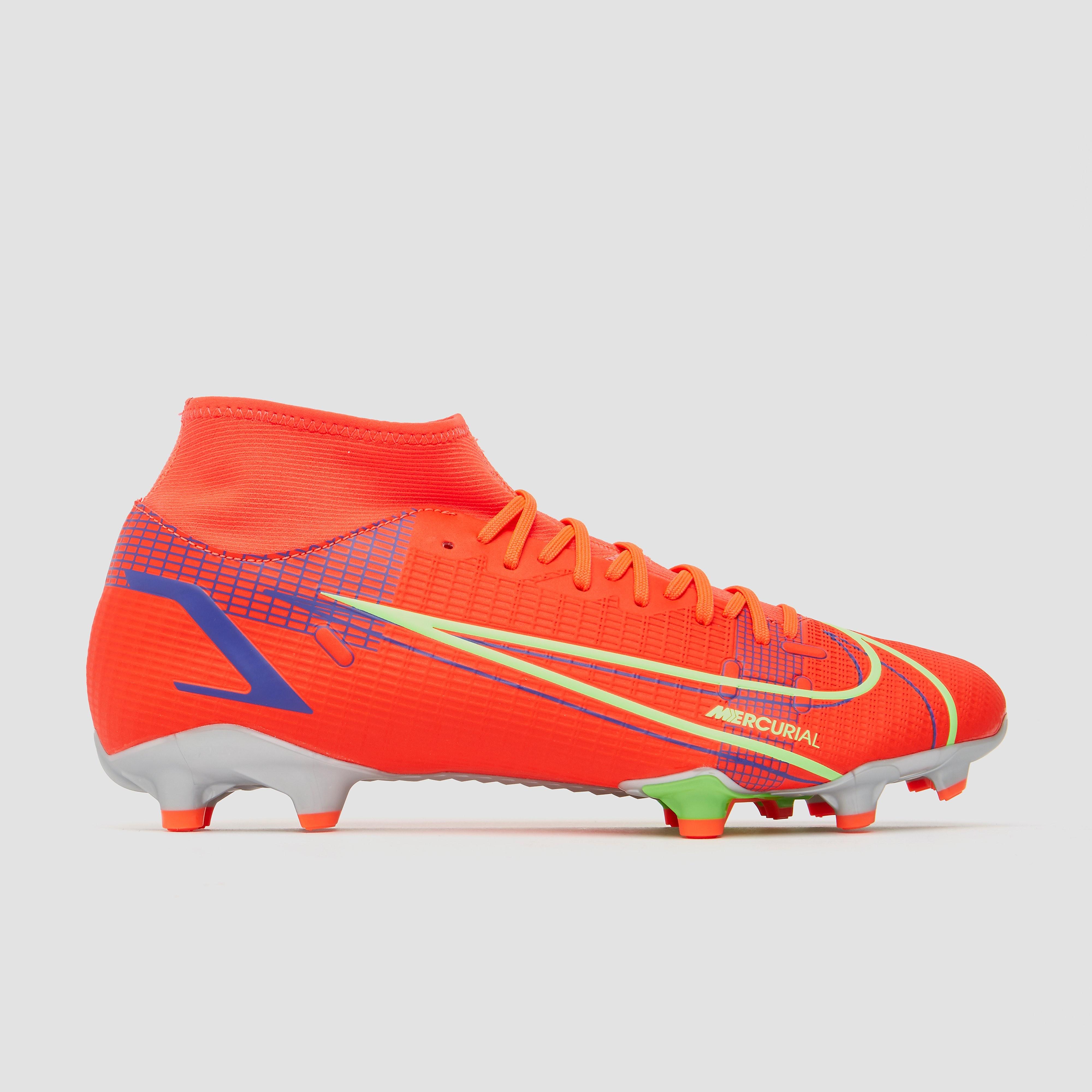 NIKE Mercurial superfly 8 academy df mg voetbalschoenen rood Dames