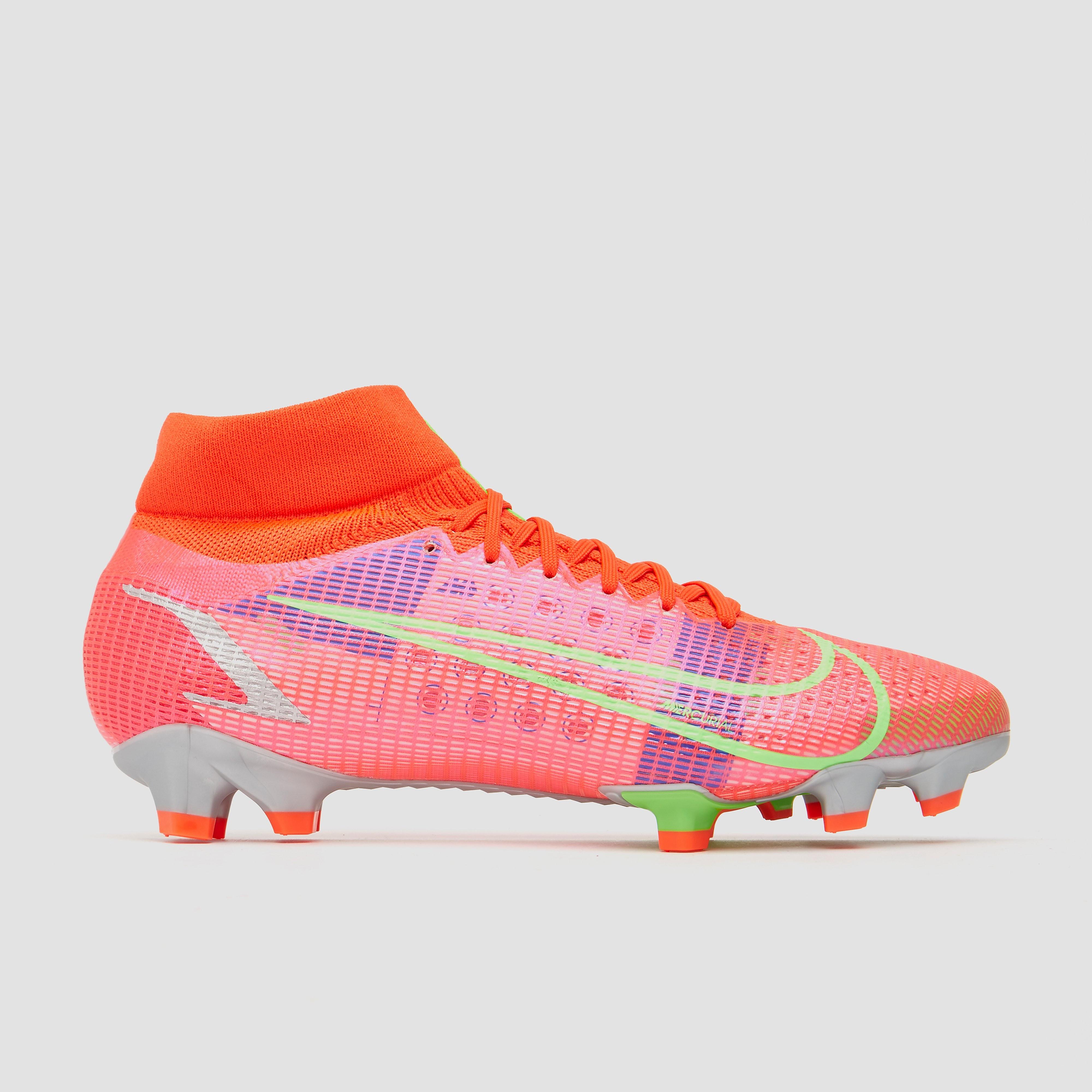 NIKE Mercurial superfly 8 pro df fg voetbalschoenen rood Dames