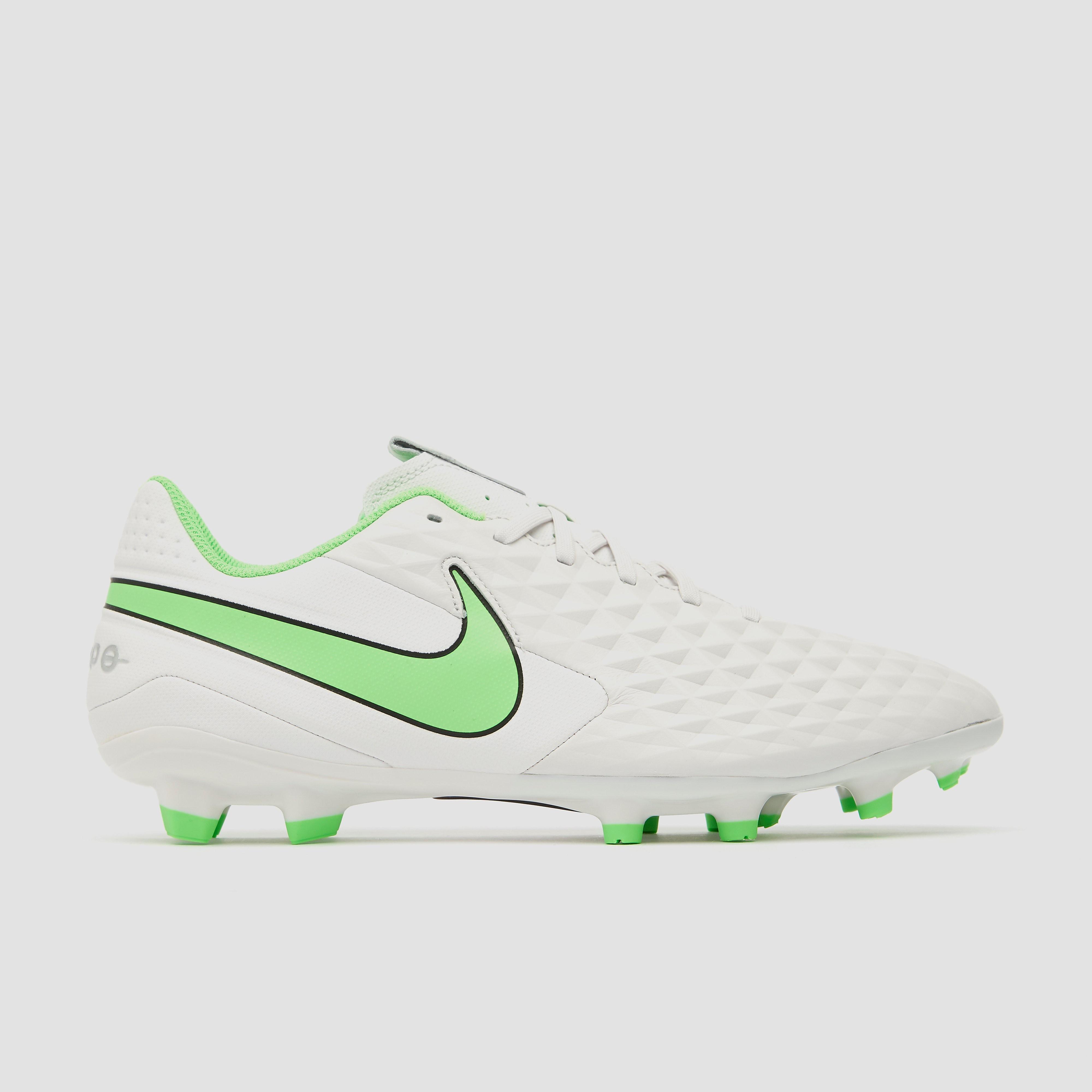 NIKE Tiempo legend 8 academy mg voetbalschoenen wit/groen Dames
