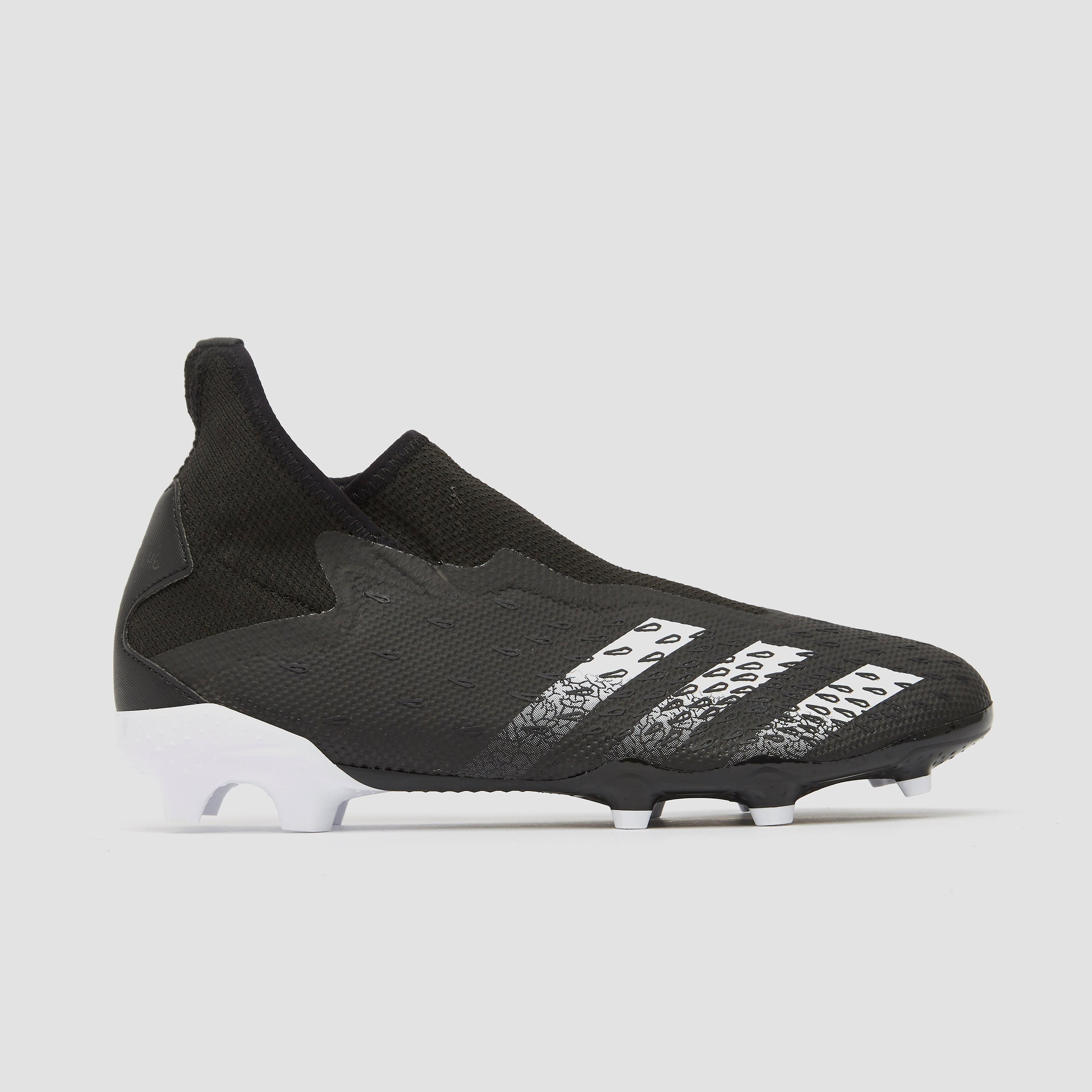 Adidas Predator freak.3 laceless fg voetbalschoenen zwart Dames