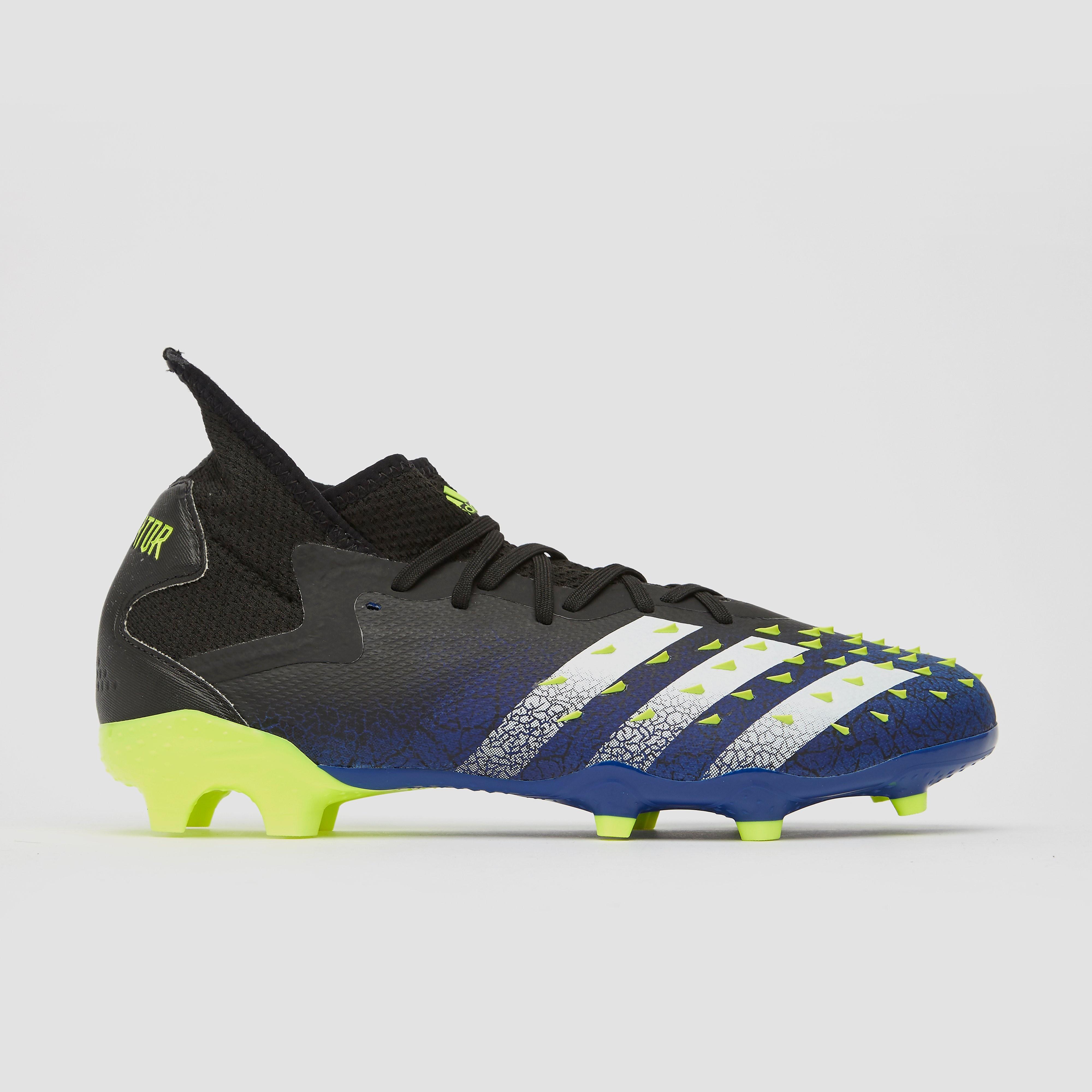 Adidas Predator freak.2 fg voetbalschoenen blauw/zwart Dames