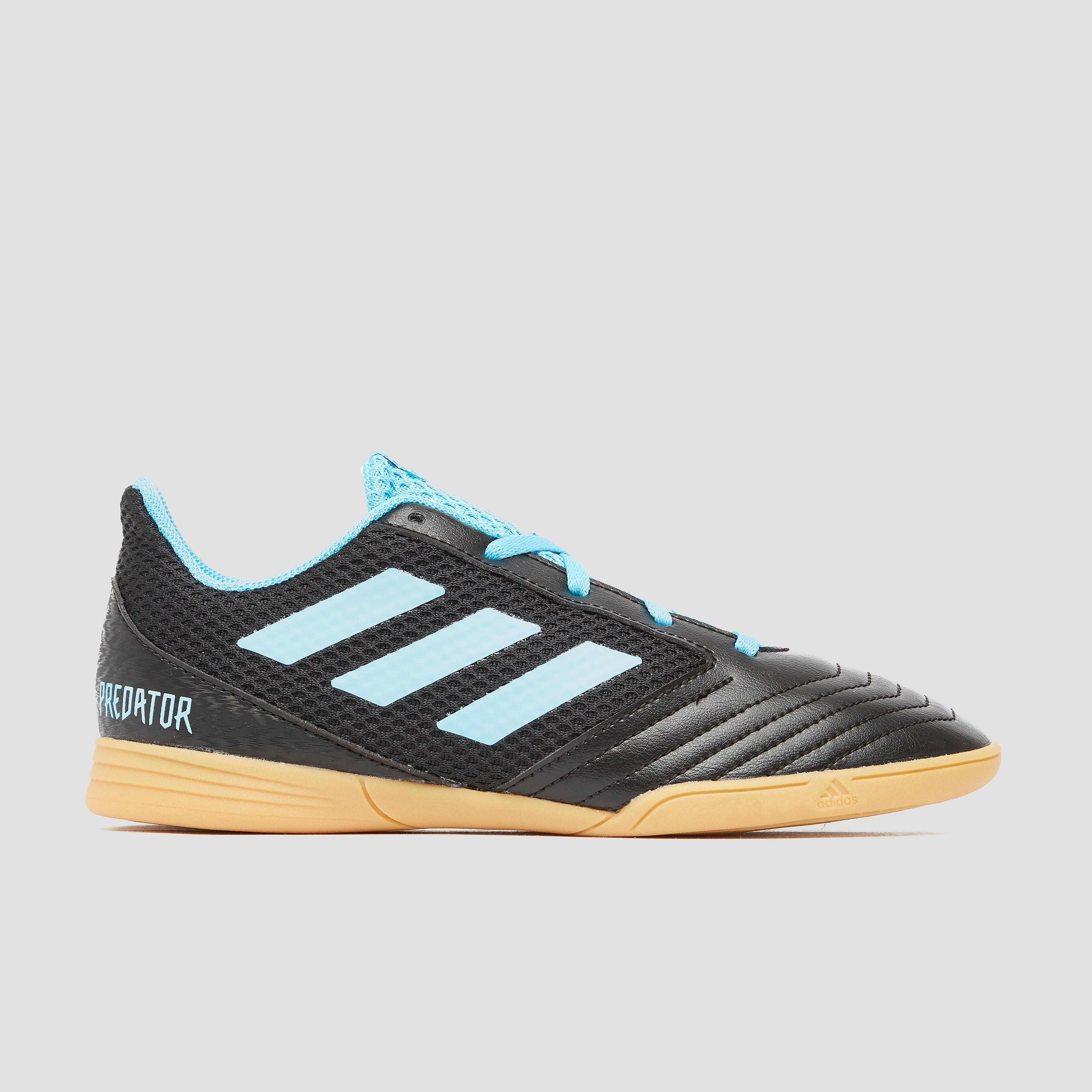 Adidas Zaalvoetbalschoenen voor kinderen Predator zwart-blauw