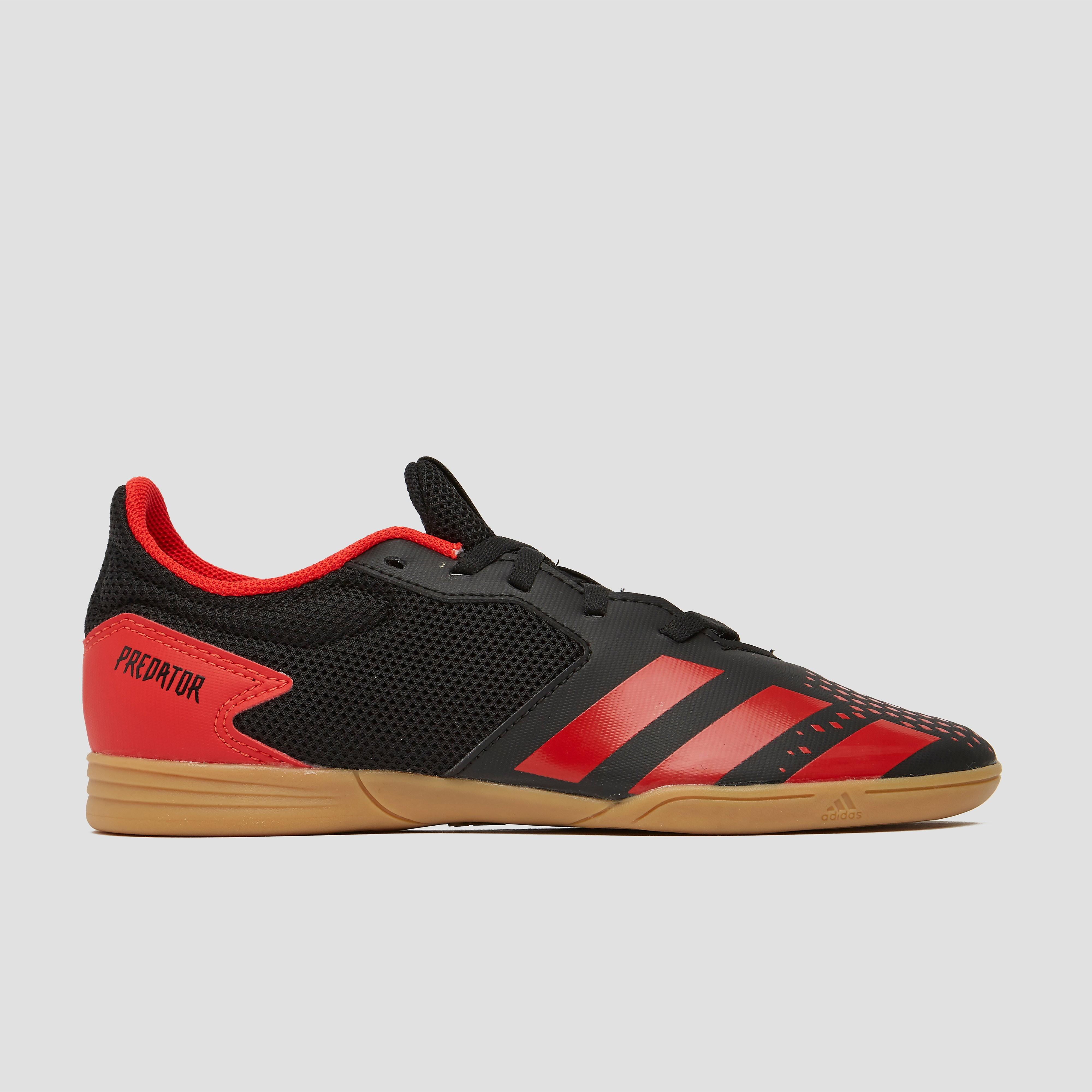 adidas Predator 20.4 in sala voetbalschoenen zwart-rood kinderen Kinderen