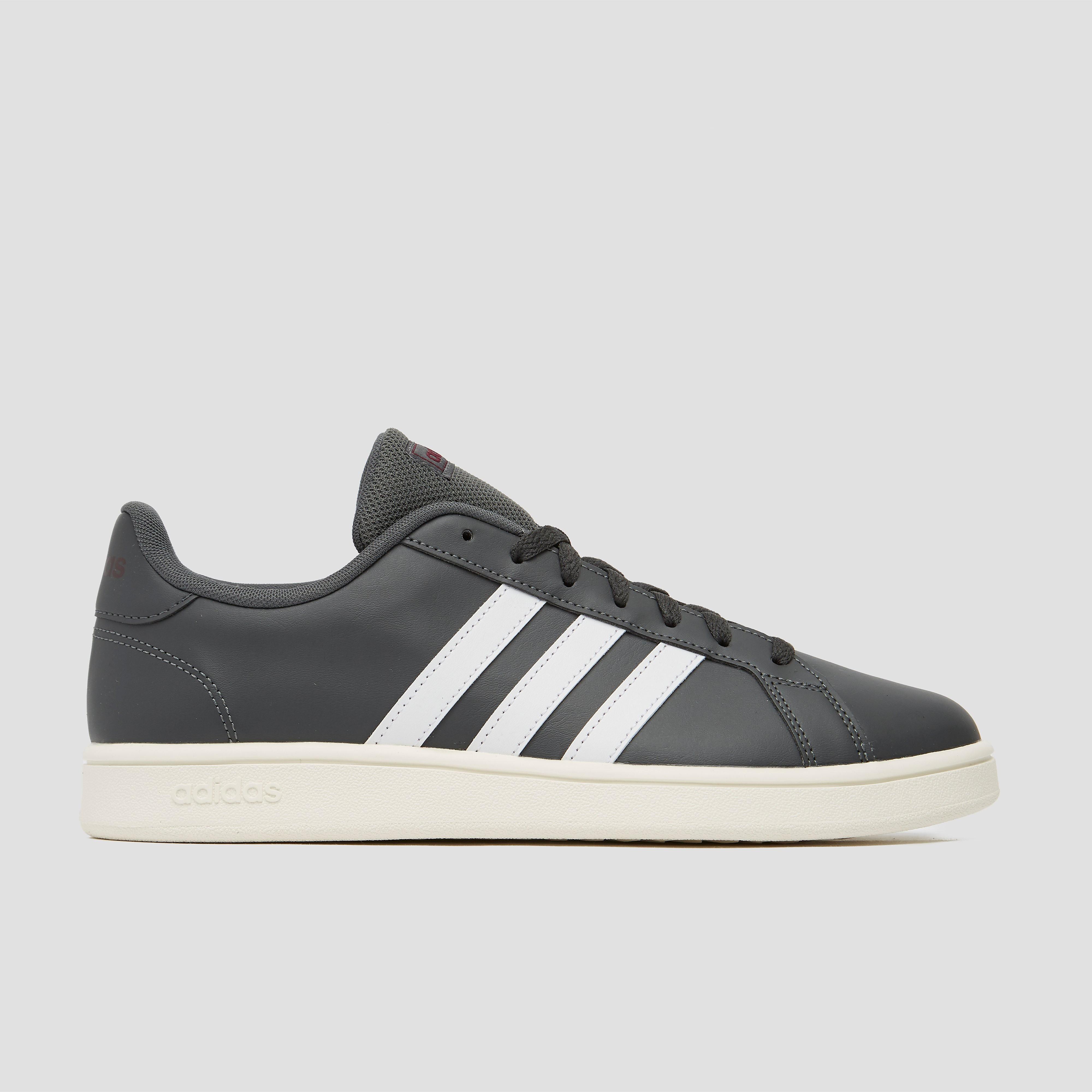 adidas Grand court base sneakers grijs heren Heren