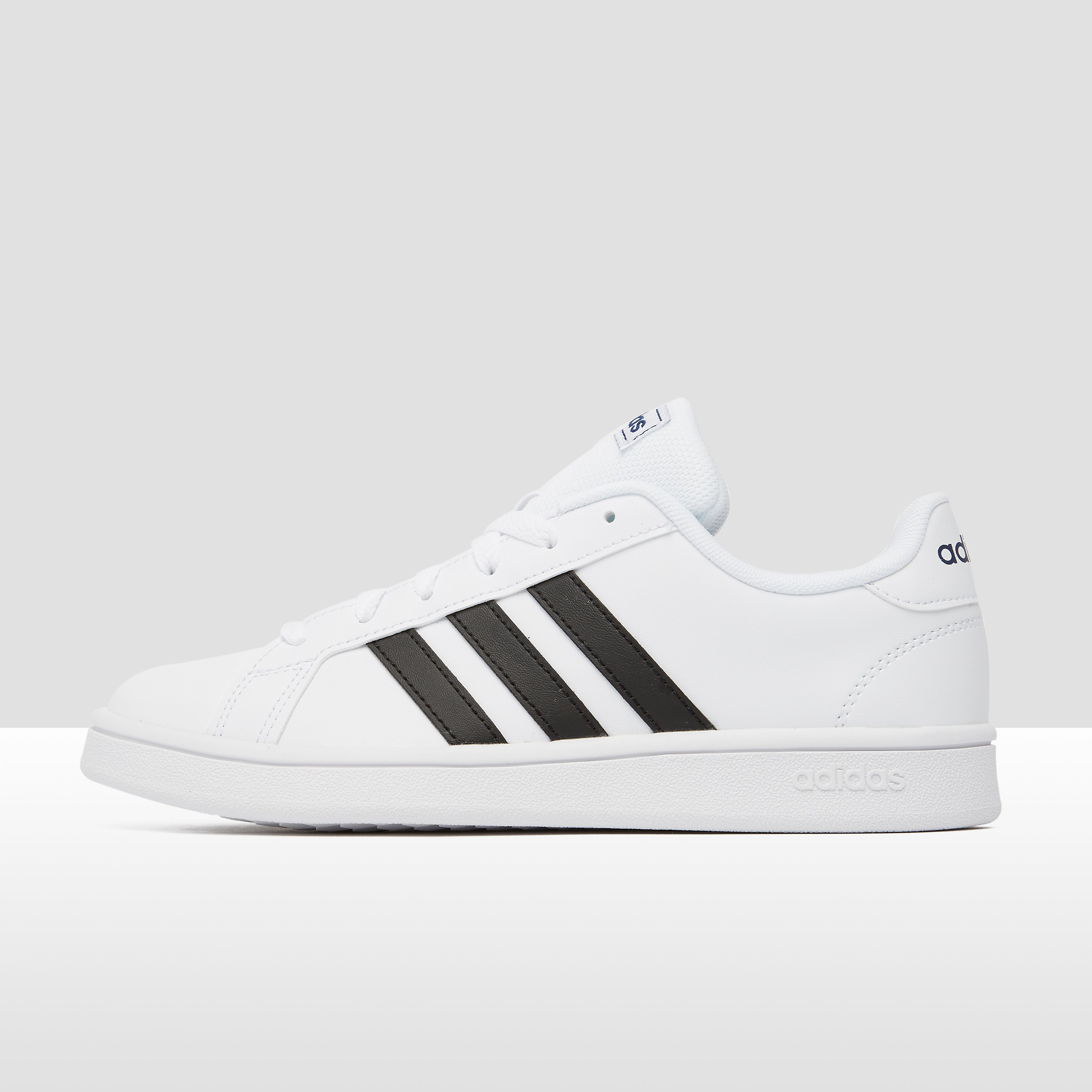 adidas Grand court base sneakers wit/zwart dames Dames