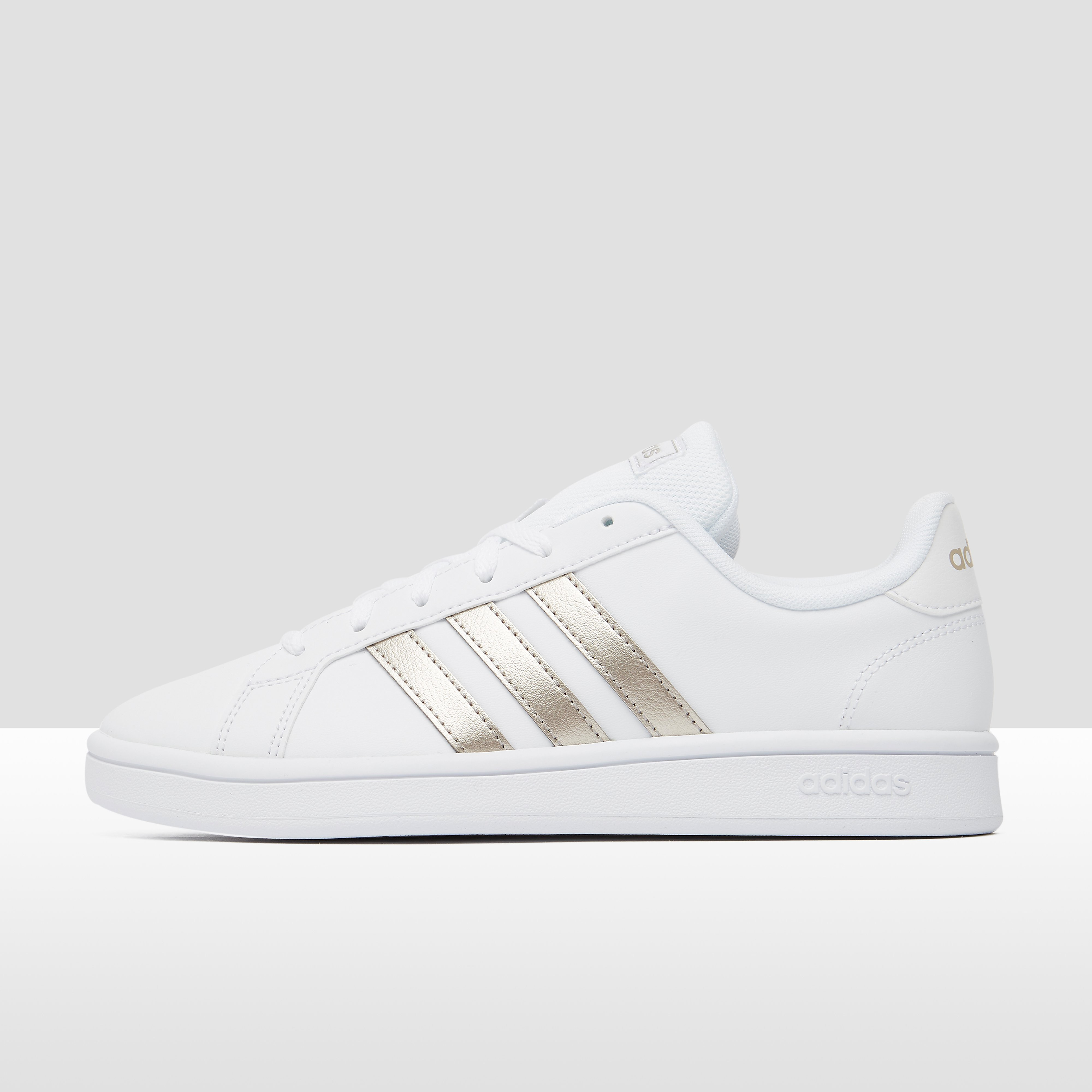 adidas Grand court base sneakers wit/goud dames Dames