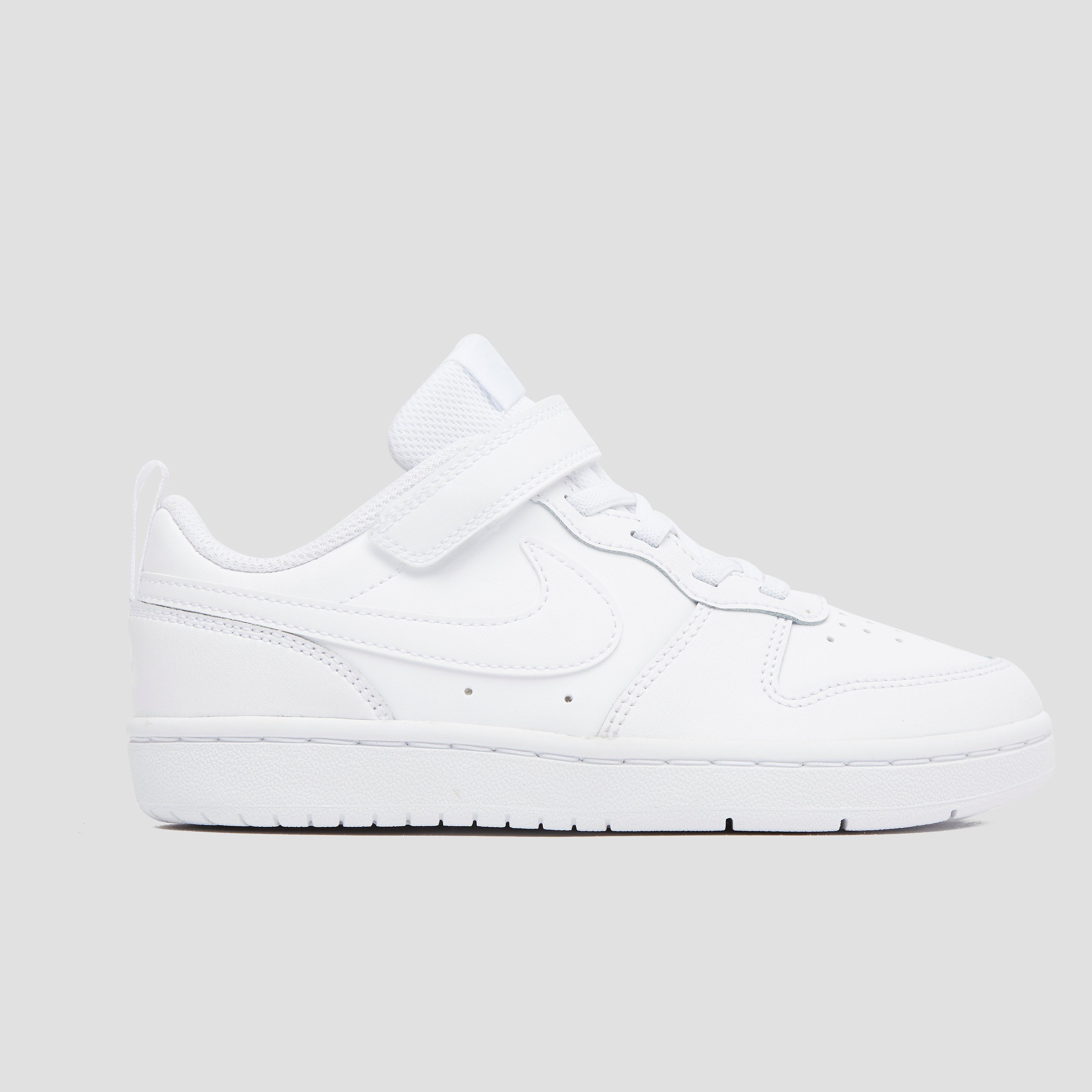 NIKE Court borough low sneakers wit kinderen Kinderen
